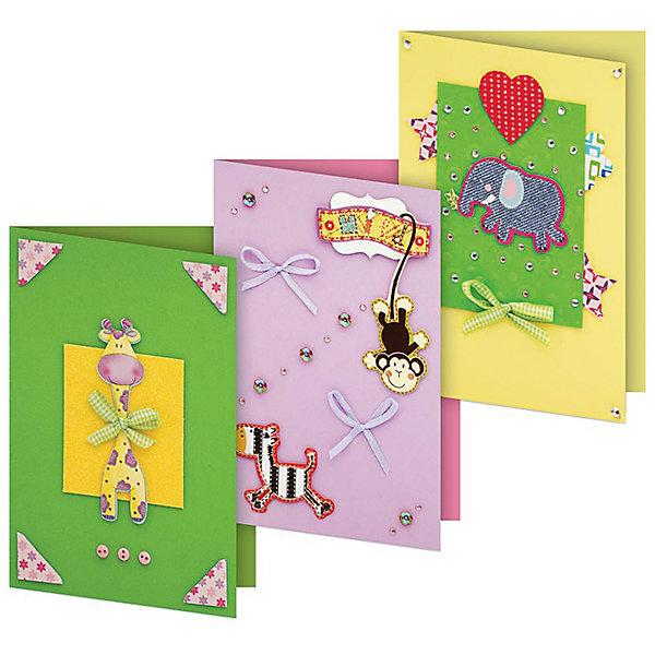 103-SB Набор для создания 3-х открыток Веселая мозаикаБумага<br>Характеристики товара:<br><br>• возраст: от 6 лет;<br>• упаковка: прозрачный пакет с хедером;<br>• размер упаковки: 24х15х1 см..;<br>• материал: плотный картон, бумага для скрапбукинга, пластик, текстиль;<br>• размер открытки: 11,5х17 см.;<br>• вес: 80 гр.;<br>• бренд: Белоснежка;<br>• страна бренда: Россия;<br>• страна производства: Китай.<br>                                                                                                                                                                                                                                                                                                                       Набор для создания 3-х открыток «Веселая мозаика» дополнен оригинальными карточками в стиле Шебби-Шик, необходимо только вырезать заготовки из макета и закрепить на открытке. Красивые элементы помогут сделать открытки более яркими и разнообразными. При их создании можно воспользоваться подсказками, расположенными на упаковке или придумать свою композицию.<br><br>Скрапбукинг стал популярным и модным увлечением во всём мире, которое помогает развививать у вас и вашего ребенка  мышление, моторику и фантазию, тренирует память, расширяет восприятие цветов и различных оттенков, пространственное мышление. Процесс создания открыток раскроет ваш  творческий потенциал,  а сама открытка будет неповторимым подарком для друзей и близких.          <br><br>Комплектация:<br><br>• 3 заготовки для открыток 11,5х17 см.;<br>• 3 конверта;<br>• 3 визитки-поздравления;<br>• клеевые подушечки;<br>• декоративные элементы: вырубка из картона, ленты, паетки, стразы, полубусины.       <br><br>Набор для создания 3-х открыток «Веселая мозаика», Белоснежка  можно купить в нашем интернет-магазине.<br>Ширина мм: 240; Глубина мм: 147; Высота мм: 5; Вес г: 80; Возраст от месяцев: 72; Возраст до месяцев: 2147483647; Пол: Унисекс; Возраст: Детский; SKU: 6997990;