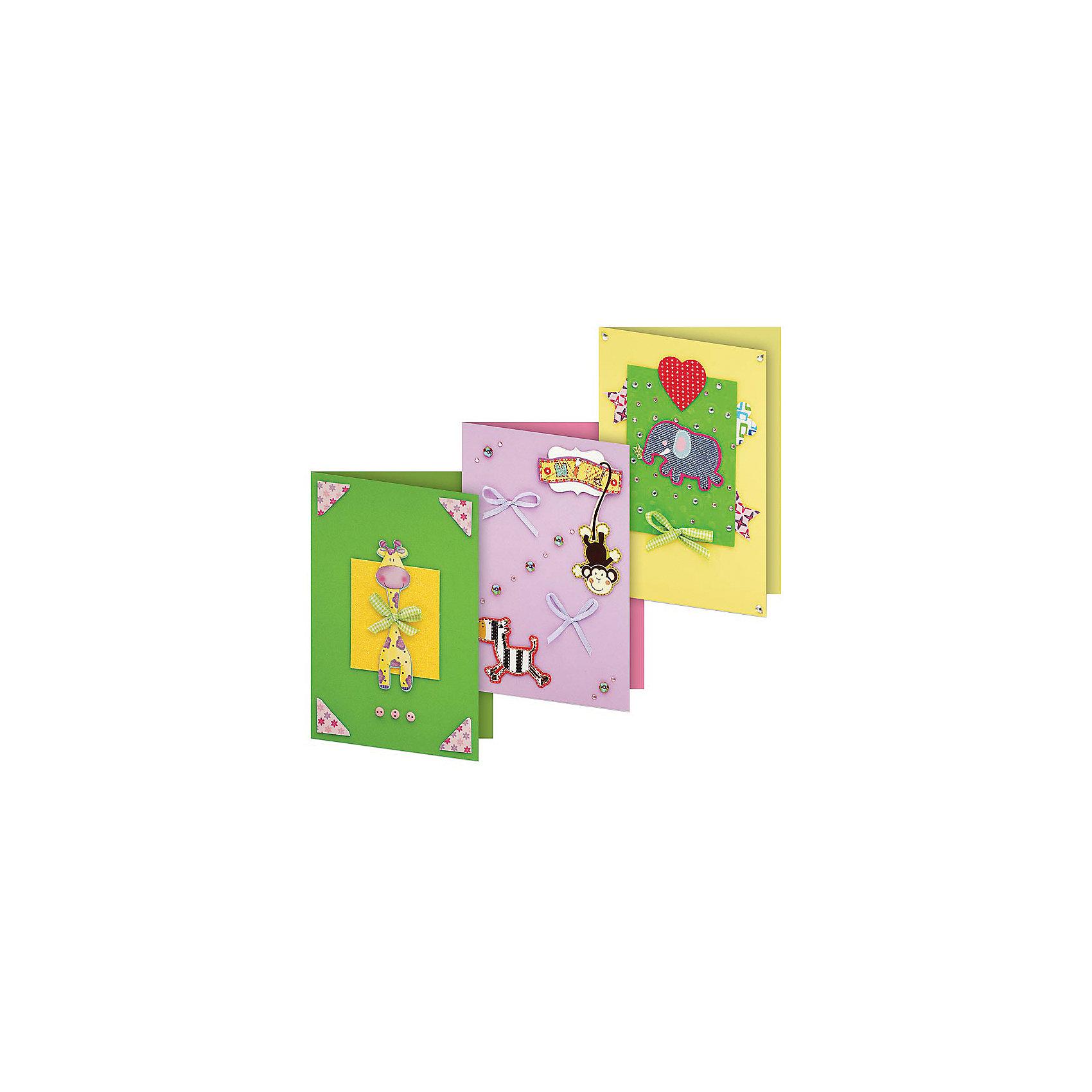 103-SB Набор для создания 3-х открыток Веселая мозаикаБумага<br>Характеристики товара:<br><br>• возраст: от 6 лет;<br>• упаковка: прозрачный пакет с хедером;<br>• размер упаковки: 24х15х1 см..;<br>• материал: плотный картон, бумага для скрапбукинга, пластик, текстиль;<br>• размер открытки: 11,5х17 см.;<br>• вес: 80 гр.;<br>• бренд: Белоснежка;<br>• страна бренда: Россия;<br>• страна производства: Китай.<br>                                                                                                                                                                                                                                                                                                                       Набор для создания 3-х открыток «Веселая мозаика» дополнен оригинальными карточками в стиле Шебби-Шик, необходимо только вырезать заготовки из макета и закрепить на открытке. Красивые элементы помогут сделать открытки более яркими и разнообразными. При их создании можно воспользоваться подсказками, расположенными на упаковке или придумать свою композицию.<br><br>Скрапбукинг стал популярным и модным увлечением во всём мире, которое помогает развививать у вас и вашего ребенка  мышление, моторику и фантазию, тренирует память, расширяет восприятие цветов и различных оттенков, пространственное мышление. Процесс создания открыток раскроет ваш  творческий потенциал,  а сама открытка будет неповторимым подарком для друзей и близких.          <br><br>Комплектация:<br><br>• 3 заготовки для открыток 11,5х17 см.;<br>• 3 конверта;<br>• 3 визитки-поздравления;<br>• клеевые подушечки;<br>• декоративные элементы: вырубка из картона, ленты, паетки, стразы, полубусины.       <br><br>Набор для создания 3-х открыток «Веселая мозаика», Белоснежка  можно купить в нашем интернет-магазине.<br><br>Ширина мм: 240<br>Глубина мм: 147<br>Высота мм: 5<br>Вес г: 80<br>Возраст от месяцев: 72<br>Возраст до месяцев: 2147483647<br>Пол: Унисекс<br>Возраст: Детский<br>SKU: 6997990