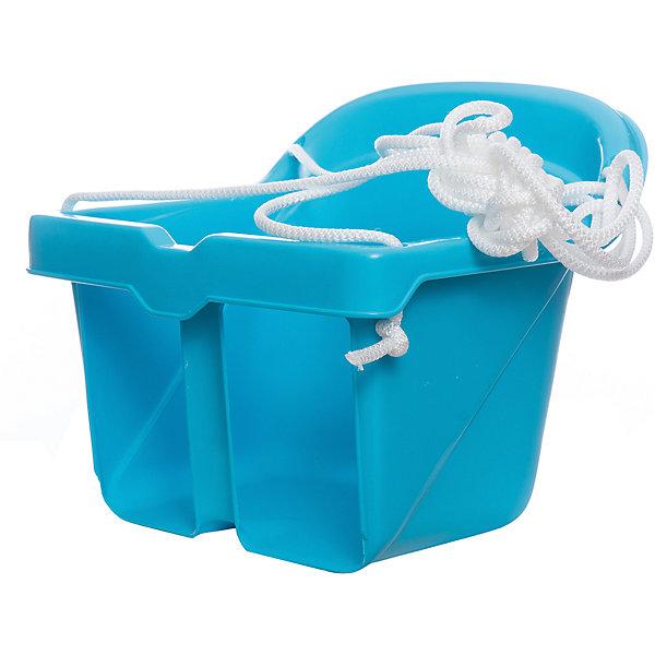 Качели литые для малышей, КАССОН, синийКачели и качалки<br>Характеристики товара:<br><br>• возраст: от 1 года;<br>• максимальная нагрузка: 15 кг;<br>• в комплекте: сидение, веревка;<br>• материал: пластик;<br>• размер сидения: 18х24 см;<br>• длина веревки: 3 метра;<br>• размер упаковки: 58х56х34 см;<br>• вес упаковки: 1 кг;<br>• страна производитель: Россия.<br><br>Качели литые для малышей Кассон позволят детишкам активно и весело провести время. Они могут использоваться как дома, так и на улице. Бампер перед ребенком защищает от случайного падения. Качели выполнены из прочного безопасного пластика и не имеют острых деталей.<br><br>Качели литые для малышей Кассон можно приобрести в нашем интернет-магазине.<br><br>Ширина мм: 340<br>Глубина мм: 580<br>Высота мм: 560<br>Вес г: 1000<br>Возраст от месяцев: 12<br>Возраст до месяцев: 36<br>Пол: Унисекс<br>Возраст: Детский<br>SKU: 7000163