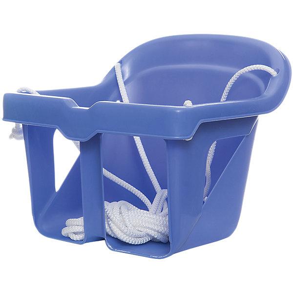 Качели литые для малышей, КАССОН, фиолетовыйКачели и качалки<br>Характеристики товара:<br><br>• возраст: от 1 года;<br>• максимальная нагрузка: 15 кг;<br>• в комплекте: сидение, веревка;<br>• материал: пластик;<br>• размер сидения: 18х24 см;<br>• длина веревки: 3 метра;<br>• размер упаковки: 58х56х34 см;<br>• вес упаковки: 1 кг;<br>• страна производитель: Россия.<br><br>Качели литые для малышей Кассон позволят детишкам активно и весело провести время. Они могут использоваться как дома, так и на улице. Бампер перед ребенком защищает от случайного падения. Качели выполнены из прочного безопасного пластика и не имеют острых деталей.<br><br>Качели литые для малышей Кассон можно приобрести в нашем интернет-магазине.<br><br>Ширина мм: 340<br>Глубина мм: 580<br>Высота мм: 560<br>Вес г: 1000<br>Возраст от месяцев: 12<br>Возраст до месяцев: 36<br>Пол: Унисекс<br>Возраст: Детский<br>SKU: 7000164