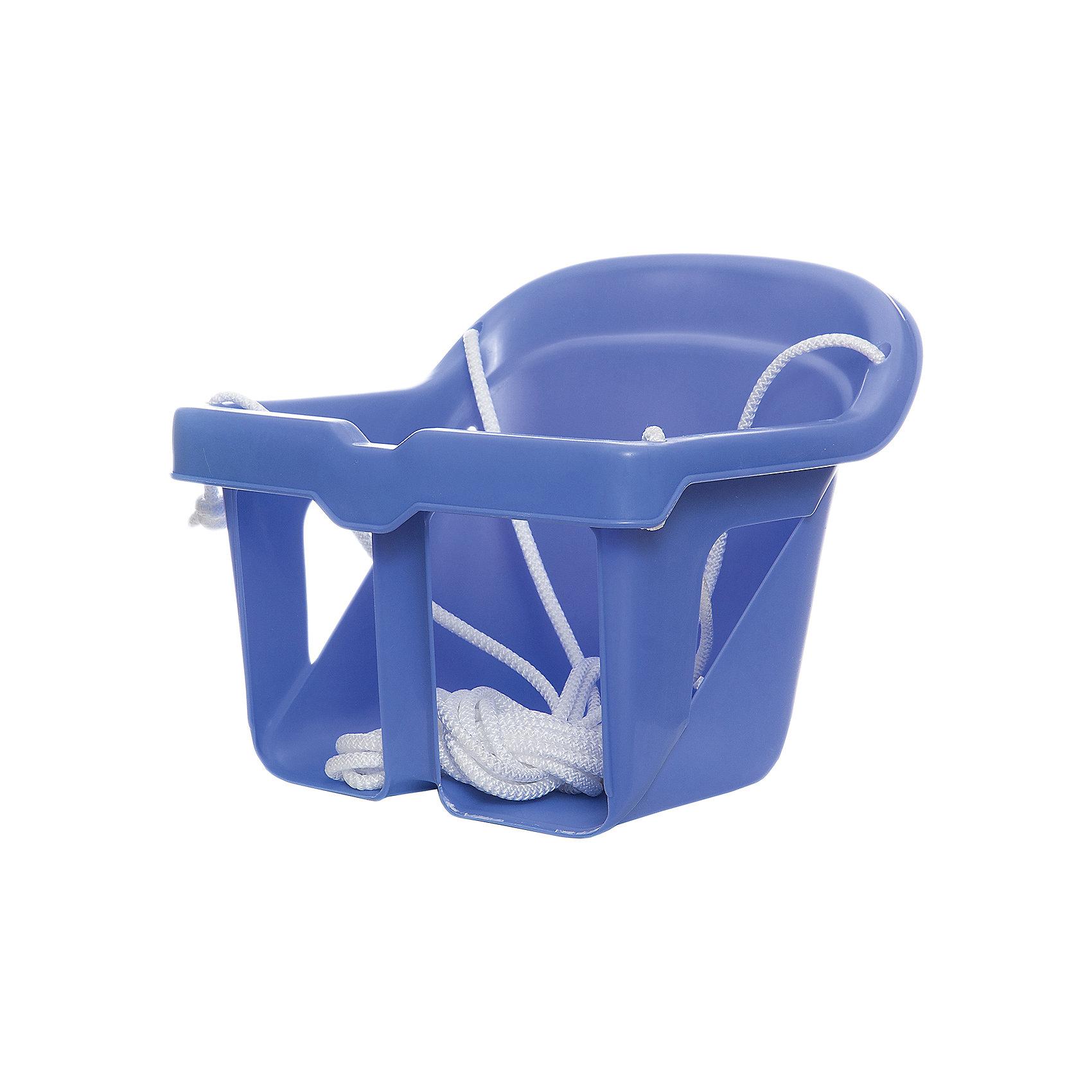 Качели литые для малышей, КАССОН, фиолетовыйКачели напольные и подвесные<br>Характеристики товара:<br><br>• возраст: от 1 года;<br>• максимальная нагрузка: 15 кг;<br>• в комплекте: сидение, веревка;<br>• материал: пластик;<br>• размер сидения: 18х24 см;<br>• длина веревки: 3 метра;<br>• размер упаковки: 58х56х34 см;<br>• вес упаковки: 1 кг;<br>• страна производитель: Россия.<br><br>Качели литые для малышей Кассон позволят детишкам активно и весело провести время. Они могут использоваться как дома, так и на улице. Бампер перед ребенком защищает от случайного падения. Качели выполнены из прочного безопасного пластика и не имеют острых деталей.<br><br>Качели литые для малышей Кассон можно приобрести в нашем интернет-магазине.<br><br>Ширина мм: 340<br>Глубина мм: 580<br>Высота мм: 560<br>Вес г: 1000<br>Возраст от месяцев: 12<br>Возраст до месяцев: 36<br>Пол: Унисекс<br>Возраст: Детский<br>SKU: 7000164