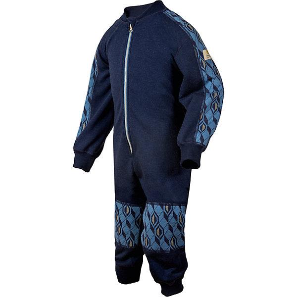 Комбинезон Janus для мальчикаФлис и термобелье<br>Характеристики товара:<br><br>• цвет: синий<br>• состав ткани: 100% шерсть мериноса<br>• подкладка: нет<br>• сезон: зима<br>• застежка: молния<br>• длинные рукава<br>• страна бренда: Норвегия<br>• страна изготовитель: Норвегия<br><br>Теплый шерстяной комбинезон для ребенка создает комфортные условия для тела. Материал комбинезона для детей позволяет коже дышать и впитывает лишнюю влагу. Натуральная шерсть мериноса приятна на ощупь, гипоаллергенна. Детский комбинезон легко надевается благодаря длинной молнии.<br><br>Комбинезон Janus (Янус) для мальчика можно купить в нашем интернет-магазине.<br>Ширина мм: 356; Глубина мм: 10; Высота мм: 245; Вес г: 519; Цвет: синий; Возраст от месяцев: 36; Возраст до месяцев: 48; Пол: Мужской; Возраст: Детский; Размер: 100,90,80,70,120,110; SKU: 7001494;