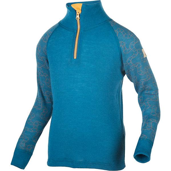 Свитер JanusФлис и термобелье<br>Характеристики товара:<br><br>• цвет: синий<br>• состав ткани: 95% шерсть мериноса, 5% полиамид<br>• подкладка: нет<br>• сезон: зима<br>• застежка: молния<br>• длинные рукава<br>• страна бренда: Норвегия<br>• страна изготовитель: Норвегия<br><br>Мягкий шерстяной свитер для ребенка создает комфортные условия для тела. Материал свитера для детей позволяет коже дышать и впитывает лишнюю влагу. Натуральная шерсть мериноса приятна на ощупь, гипоаллергенна. Детский свитер легко надевается благодаря молнии.<br><br>Свитер Janus (Янус) можно купить в нашем интернет-магазине.<br>Ширина мм: 190; Глубина мм: 74; Высота мм: 229; Вес г: 236; Цвет: синий; Возраст от месяцев: 18; Возраст до месяцев: 24; Пол: Унисекс; Возраст: Детский; Размер: 140,120,130,150,160,170,90,100,110; SKU: 7001705;