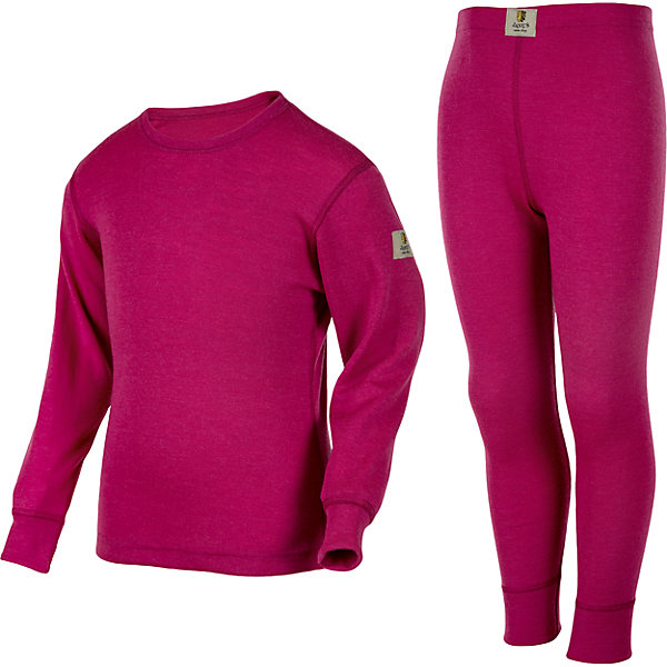 Комплект Janus для девочкиКомплекты<br>Характеристики товара:<br><br>• цвет: розовый<br>• комплектация: лонгслив и рейтузы<br>• состав ткани: 100% шерсть мериноса<br>• подкладка: нет<br>• сезон: зима<br>• пояс: резинка<br>• длинные рукава<br>• страна бренда: Норвегия<br>• страна изготовитель: Норвегия<br><br>Легкий материал комплекта термобелья для детей позволяет коже дышать и впитывает лишнюю влагу. Тонкая шерсть мериноса приятна на ощупь, гипоаллергенна. Детский комплект термобелья легко надевается благодаря эластичному материалу. Это легкое термобелье для ребенка создает комфортные условия и удобно сидит по фигуре. <br><br>Комплект Janus (Янус) для девочки можно купить в нашем интернет-магазине.<br><br>Ширина мм: 215<br>Глубина мм: 88<br>Высота мм: 191<br>Вес г: 336<br>Цвет: розовый<br>Возраст от месяцев: 18<br>Возраст до месяцев: 24<br>Пол: Женский<br>Возраст: Детский<br>Размер: 90,100,110,120,130,140<br>SKU: 7001725