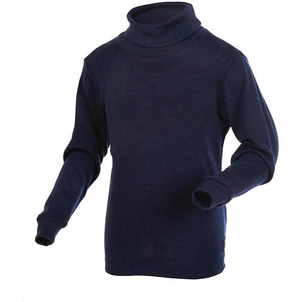 Водолазка Janus для мальчикаВодолазки<br>Характеристики товара:<br><br>• цвет: синий<br>• состав ткани: 100% шерсть мериноса<br>• подкладка: нет<br>• сезон: зима<br>• длинные рукава<br>• страна бренда: Норвегия<br>• страна изготовитель: Норвегия<br><br>Такие шерстяные термоводолазки для детей можно носить как самостоятельную одежду или как термобелье. Детская водолазка от норвежского бренда Janus сделана из натуральной шерсти мериноса - теплой и гипоаллергенной. При производстве детской водолазки использовались только безопасные красители. <br><br>Водолазку Janus (Янус) для мальчика можно купить в нашем интернет-магазине.<br>Ширина мм: 230; Глубина мм: 40; Высота мм: 220; Вес г: 250; Цвет: синий; Возраст от месяцев: 36; Возраст до месяцев: 48; Пол: Мужской; Возраст: Детский; Размер: 100,90,170,160,150,140,130,120,110; SKU: 7001756;