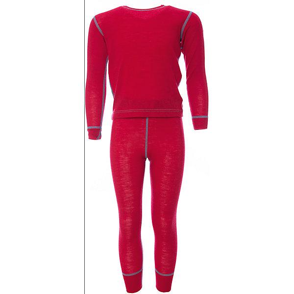 Комплект Janus для девочкиФлис и термобелье<br>Характеристики товара:<br><br>• цвет: красный<br>• комплектация: лонгслив и рейтузы<br>• состав ткани: 100% шерсть мериноса<br>• подкладка: нет<br>• сезон: зима<br>• пояс: резинка<br>• длинные рукава<br>• страна бренда: Норвегия<br>• страна изготовитель: Норвегия<br><br>Теплый натуральный материал комплекта термобелья для детей позволяет коже дышать и впитывает лишнюю влагу. Тонкая шерсть мериноса приятна на ощупь, гипоаллергенна. Детский комплект термобелья легко надевается благодаря эластичному материалу. Это термобелье для ребенка создаст комфортные условия.<br><br>Комплект Janus (Янус) для девочки можно купить в нашем интернет-магазине.<br>Ширина мм: 215; Глубина мм: 88; Высота мм: 191; Вес г: 336; Цвет: красный; Возраст от месяцев: 72; Возраст до месяцев: 84; Пол: Женский; Возраст: Детский; Размер: 120,100,110,130,90; SKU: 7001766;
