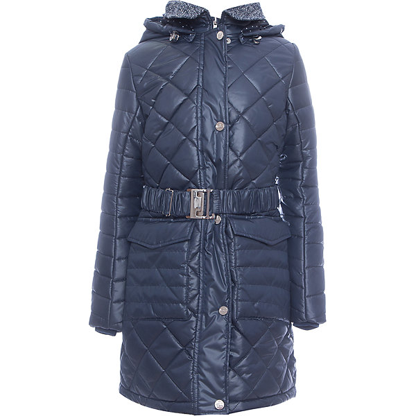 Купить Пальто BOOM by Orby для девочки, Россия, синий, 170, 164, 158, 152, 146, 140, 134, 128, 122, Женский