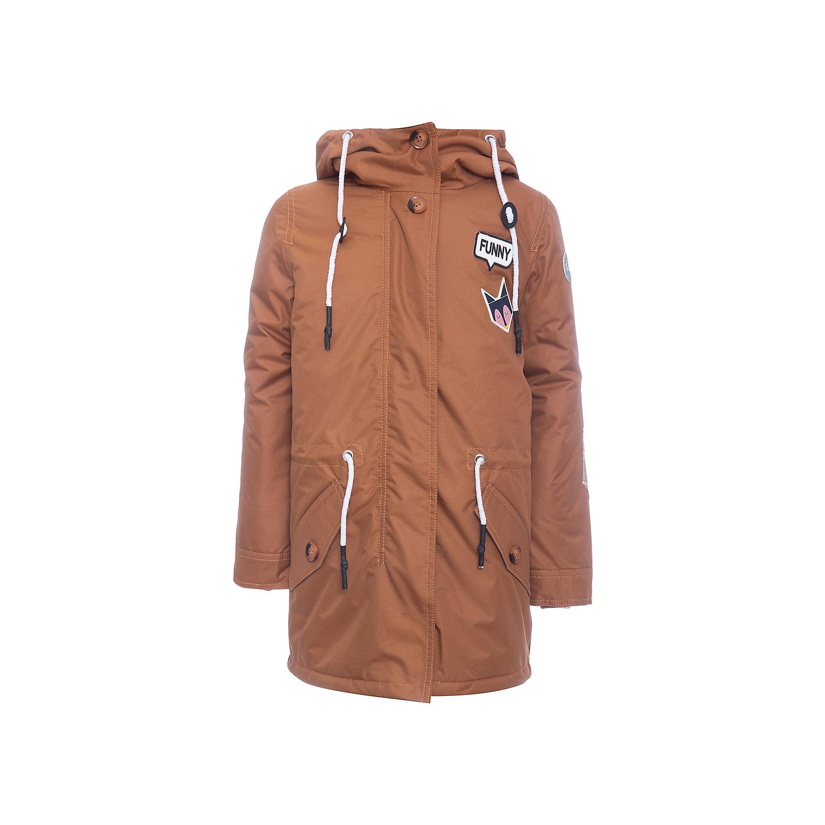 Куртка-парка BOOM by Orby для девочкиВерхняя одежда<br>Характеристики товара:<br><br>• цвет: желтый<br>• ткань верха: Таффета peach pu<br>• отделка: Костюмная ткань принт<br>• подкладка: ПЭ пуходержащий<br>• утеплитель: Flexy Fiber 100 г/м2<br>• сезон: демисезон<br>• температурный режим: от +5° до +15°С<br>• особенности: на молнии, планка от ветра<br>• тип куртки: парка<br>• капюшон: без меха, несъемный<br>• страна бренда: Россия<br>• страна изготовитель: Россия<br><br>Детская демисезонная одежда должна учитывать переменную погоду, быть теплой и удобной, как эта парка для девочки. Она отлично защищает ребенка от ветра и холода. <br><br>Куртку-парку BOOM by Orby для девочки можно купить в нашем интернет-магазине.<br><br>Ширина мм: 356<br>Глубина мм: 10<br>Высота мм: 245<br>Вес г: 519<br>Цвет: желтый<br>Возраст от месяцев: 144<br>Возраст до месяцев: 156<br>Пол: Женский<br>Возраст: Детский<br>Размер: 158,104,110,98,116,122,128,134,140,146,152<br>SKU: 7007176