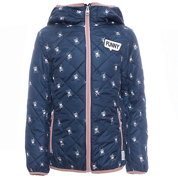 Куртка BOOM by Orby для девочкиВерхняя одежда<br>Характеристики товара:<br><br>• цвет: синий<br>• ткань верха: Таффета pu milky принт стеганая <br>• подкладка: ПЭ пуходержащий<br>• утеплитель: Эко синтепон 150 г/м2<br>• сезон: демисезон<br>• температурный режим: от 0° до +15°С<br>• особенности: на молнии, стеганая<br>• тип куртки: стеганая<br>• капюшон: без меха, несъемный<br>• страна бренда: Россия<br>• страна изготовитель: Россия<br><br>Благодаря утеплителю, оптимальному прилеганию и капюшону такая куртка защитит ребенка от холода и сырости в демисезон. Детская демисезонная одежда должна учитывать переменную погоду, быть теплой и удобной, как эта куртка для девочки. <br><br>Куртку BOOM by Orby для девочки можно купить в нашем интернет-магазине.<br>Ширина мм: 356; Глубина мм: 10; Высота мм: 245; Вес г: 519; Цвет: синий; Возраст от месяцев: 36; Возраст до месяцев: 48; Пол: Женский; Возраст: Детский; Размер: 104,158,152,146,140,134,128,122,116,98,110; SKU: 7007200;