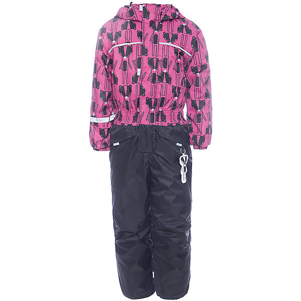 Комбинезон BOOM by Orby для девочкиВерхняя одежда<br>Характеристики товара:<br><br>• цвет: черный<br>• ткань верха: Нейлон с мембранным покрытием 3000х3000<br>• подкладка: Поларфлис; ПЭ пуходержащий<br>• утеплитель: FiberSoft 150 г/м2<br>• сезон: демисезон<br>• температурный режим: от 0°до +15°С<br>• особенности: на молнии, с ветрозащитным клапаном на липучке<br>• тип комбинезона: с принтом, эластичные резинки на талии, рукавах и штанинах<br>• капюшон: без меха, несъемный<br>• страна бренда: Россия<br>• страна изготовитель: Россия<br><br>Демисезонный комбинезон - отличный вариант одежды для холодной переменной погоды. Благодаря красивому цвету, капюшону и большим карманам детский комбинезон стильно смотрится и хорошо сидит по фигуре. <br><br>Комбинезон BOOM by Orby для девочки можно купить в нашем интернет-магазине.<br>Ширина мм: 356; Глубина мм: 10; Высота мм: 245; Вес г: 519; Цвет: черный; Возраст от месяцев: 12; Возраст до месяцев: 15; Пол: Женский; Возраст: Детский; Размер: 80,116,110,98,92,104,86; SKU: 7007232;
