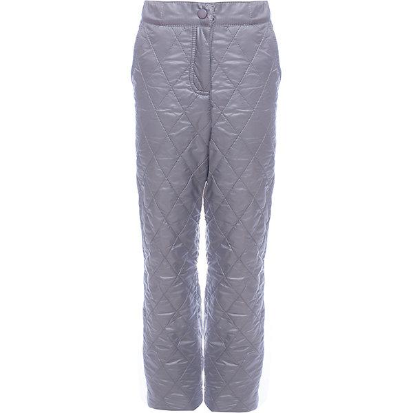 Брюки BOOM by Orby для девочкиВерхняя одежда<br>Характеристики товара:<br><br>• цвет: серый<br>• ткань верха: Таффета pu milky<br>• подкладка: Флис<br>• без утеплителя<br>• сезон: демисезон<br>• температурный режим: от +5°до +15°С<br>• особенности одежды: на молнии, стеганая<br>• тип брюк: стеганые<br>• пояс: регулировка объема резинкой<br>• карманы: втачные<br>• страна бренда: Россия<br>• страна изготовитель: Россия<br><br>Благодаря флисовой подкладке, оптимальному прилеганию и прочной ткани верха такие брюки защитят ребенка от холода и сырости в демисезон. Детская демисезонная одежда должна учитывать переменную погоду, быть теплой и удобной, как эти брюки для девочки. <br><br>Брюки BOOM by Orby для девочки можно купить в нашем интернет-магазине.<br><br>Ширина мм: 215<br>Глубина мм: 88<br>Высота мм: 191<br>Вес г: 336<br>Цвет: серый<br>Возраст от месяцев: 18<br>Возраст до месяцев: 24<br>Пол: Женский<br>Возраст: Детский<br>Размер: 92,104,110,98,116,122,128,134,140,146,152,158,86<br>SKU: 7007252