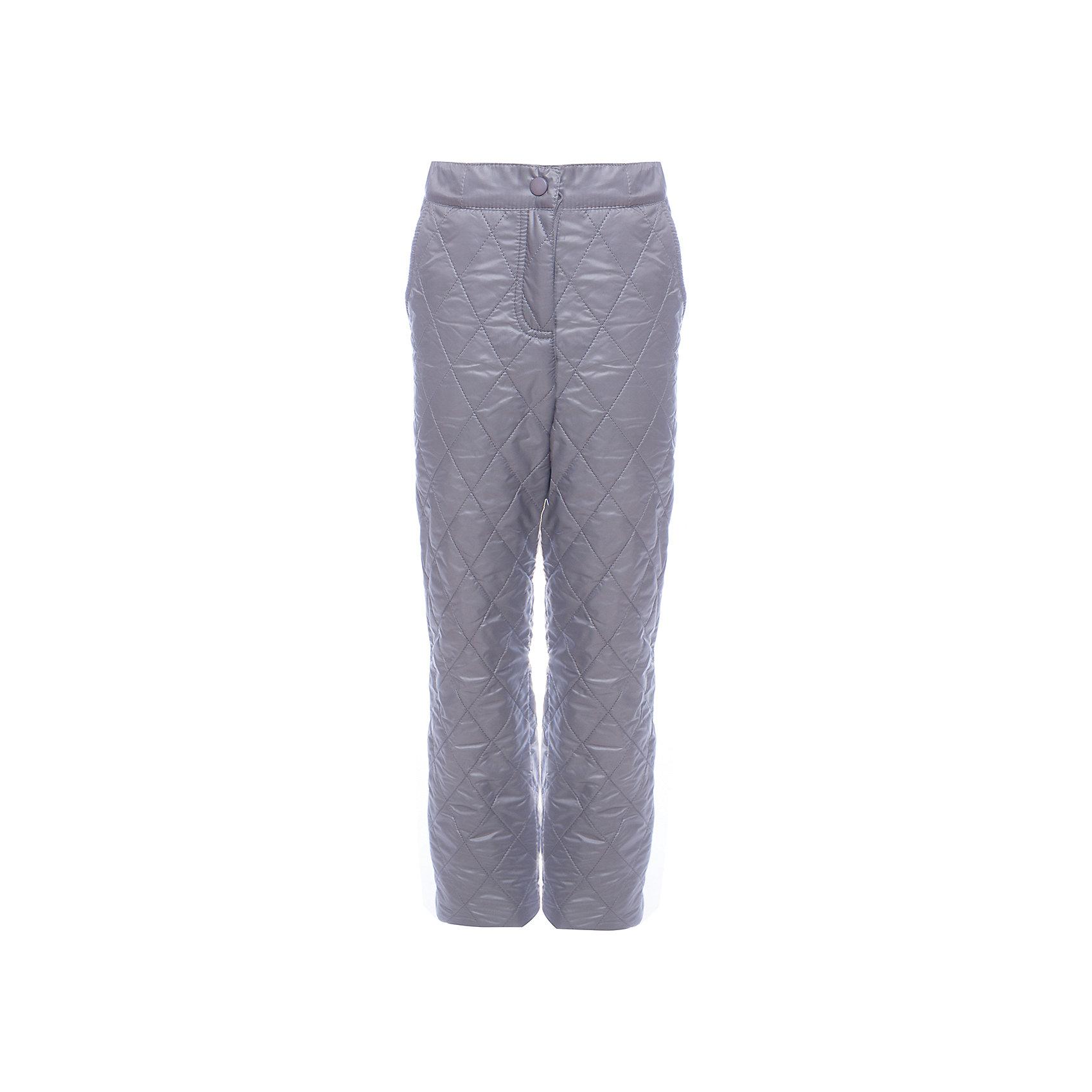 Брюки BOOM by Orby для девочкиВерхняя одежда<br>Характеристики товара:<br><br>• цвет: серый<br>• ткань верха: Таффета pu milky<br>• подкладка: Флис<br>• без утеплителя<br>• сезон: демисезон<br>• температурный режим: от +5°до +15°С<br>• особенности одежды: на молнии, стеганая<br>• тип брюк: стеганые<br>• пояс: регулировка объема резинкой<br>• карманы: втачные<br>• страна бренда: Россия<br>• страна изготовитель: Россия<br><br>Благодаря флисовой подкладке, оптимальному прилеганию и прочной ткани верха такие брюки защитят ребенка от холода и сырости в демисезон. Детская демисезонная одежда должна учитывать переменную погоду, быть теплой и удобной, как эти брюки для девочки. <br><br>Брюки BOOM by Orby для девочки можно купить в нашем интернет-магазине.<br><br>Ширина мм: 215<br>Глубина мм: 88<br>Высота мм: 191<br>Вес г: 336<br>Цвет: серый<br>Возраст от месяцев: 144<br>Возраст до месяцев: 156<br>Пол: Женский<br>Возраст: Детский<br>Размер: 158,86,92,104,110,98,116,122,128,134,140,146,152<br>SKU: 7007252
