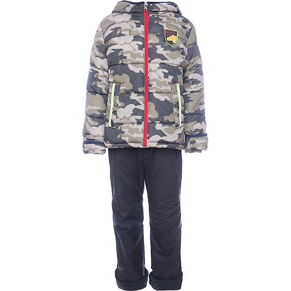 Комплект: куртка и брюки BOOM by Orby для мальчикаВерхняя одежда<br>Характеристики товара:<br><br>• цвет: коричневый<br>• ткань верха: Таффета pu milky<br>• подкладка: куртка - Флис; ПЭ пуходержащий, брюки - флис<br>• утеплитель: куртка - Flexy Fiber 200 г/м2<br>• отделка: Таслан pu milky<br>• сезон: демисезон<br>• температурный режим: от -5°до +10°С<br>• особенности куртки: на молнии, со светоотражающими элементами<br>• особенности брюк: на резинке, есть регулирующие лямки<br>• капюшон: без меха, несъемный<br>• страна бренда: Россия<br>• страна изготовитель: Россия<br><br>Удобный комплект для мальчика позволит обеспечить ребенку комфорт в демисезон. Куртка и брюки защитят от сырости в дождливую погоду и согреют в небольшой мороз.<br><br>Комплект: куртка и брюки BOOM by Orby для мальчика можно купить в нашем интернет-магазине.<br><br>Ширина мм: 356<br>Глубина мм: 10<br>Высота мм: 245<br>Вес г: 519<br>Цвет: коричневый<br>Возраст от месяцев: 72<br>Возраст до месяцев: 84<br>Пол: Мужской<br>Возраст: Детский<br>Размер: 122,104,86,110,92,98,116<br>SKU: 7007342