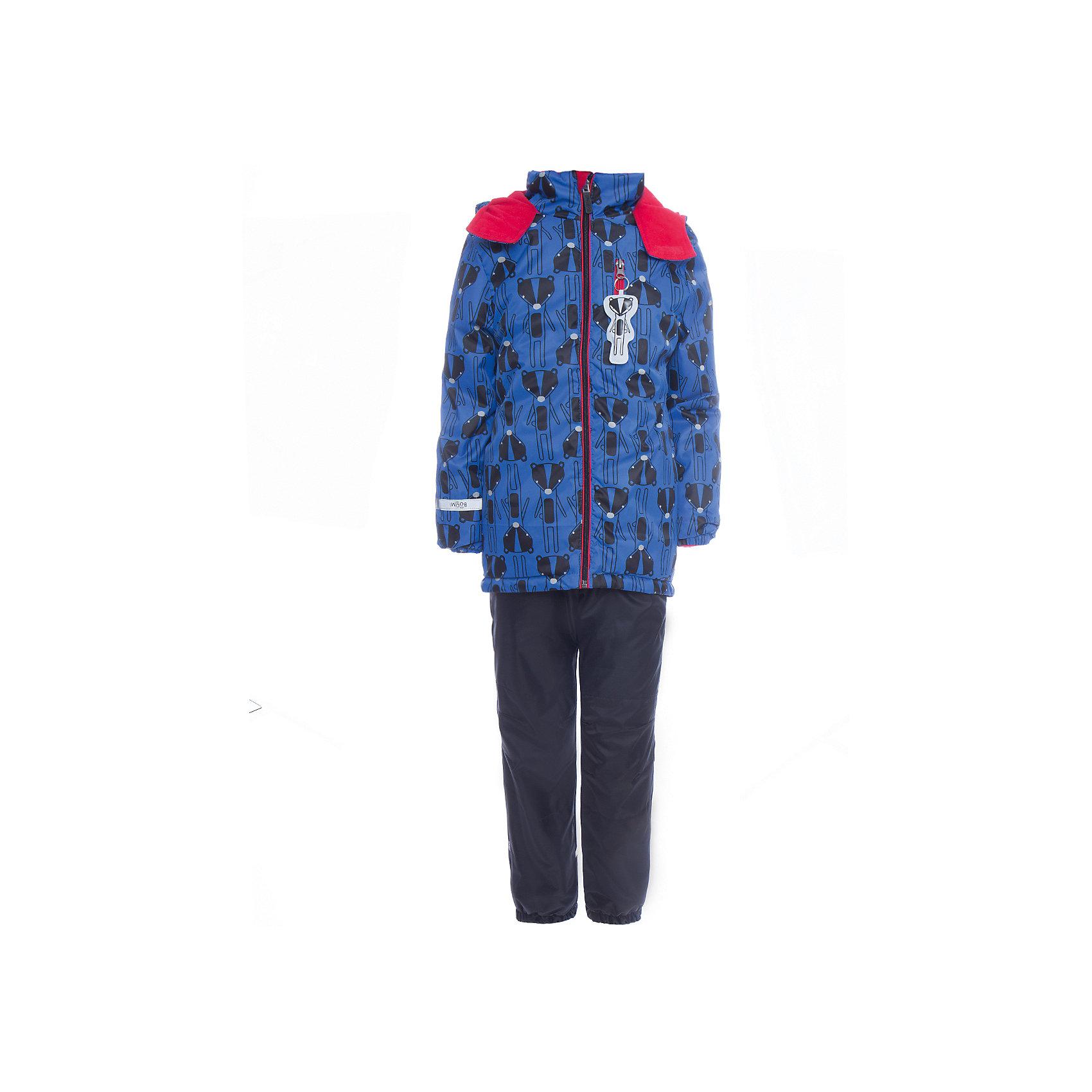 Комплект: куртка и брюки BOOM by Orby для мальчикаВерхняя одежда<br>Характеристики товара:<br><br>• цвет: синий<br>• ткань верха: Нейлон с мембранным покрытием 3000х3000<br>• подкладка: куртка - Поларфлис; ПЭ пуходержащий, брюки - Поларфлис<br>• утеплитель: куртка - Flexy Fiber 150 г/м2<br>• сезон: демисезон<br>• температурный режим: от +10°до -5°С<br>• особенности куртки: на молнии, со светоотражающими элементами<br>• особенности брюк: на резинке<br>• капюшон: без меха<br>• страна бренда: Россия<br>• страна изготовитель: Россия<br><br>Удобный и модный комплект для мальчика сделан с применением мембранной технологии, которая защищает от ветра, сырости и грязи. Он позволит обеспечить ребенку комфорт в демисезон. <br><br>Комплект: куртка и брюки BOOM by Orby для мальчика можно купить в нашем интернет-магазине.<br><br>Ширина мм: 356<br>Глубина мм: 10<br>Высота мм: 245<br>Вес г: 519<br>Цвет: синий<br>Возраст от месяцев: 36<br>Возраст до месяцев: 48<br>Пол: Мужской<br>Возраст: Детский<br>Размер: 86,104,122,116,110,98,92<br>SKU: 7007366
