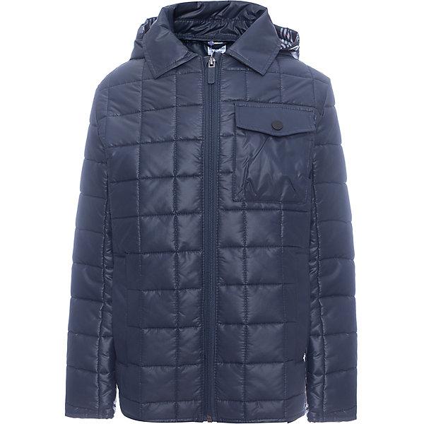 Куртка BOOM by Orby для мальчикаВерхняя одежда<br>Характеристики товара:<br><br>• цвет: синий<br>• ткань верха: Таффета pu milky стеганая<br>• подкладка: ПЭ пуходержащий<br>• утеплитель: Flexy Fiber 150 г/м2<br>• сезон: демисезон<br>• температурный режим: от 0°до +15°С<br>• особенности: на молнии, стеганая<br>• тип куртки: стеганая<br>• капюшон: без меха, несъемный<br>• страна бренда: Россия<br>• страна изготовитель: Россия<br><br>Эта демисезонная куртка не только стильно смотрится - благодаря утеплителю, оптимальному прилеганию и капюшону такая куртка защитит ребенка от холода и сырости в демисезон. Она дополнена удобными карманами.<br><br>Куртку BOOM by Orby для мальчика можно купить в нашем интернет-магазине.<br><br>Ширина мм: 356<br>Глубина мм: 10<br>Высота мм: 245<br>Вес г: 519<br>Цвет: синий<br>Возраст от месяцев: 72<br>Возраст до месяцев: 84<br>Пол: Мужской<br>Возраст: Детский<br>Размер: 170,164,158,152,146,140,134,128,122<br>SKU: 7007398