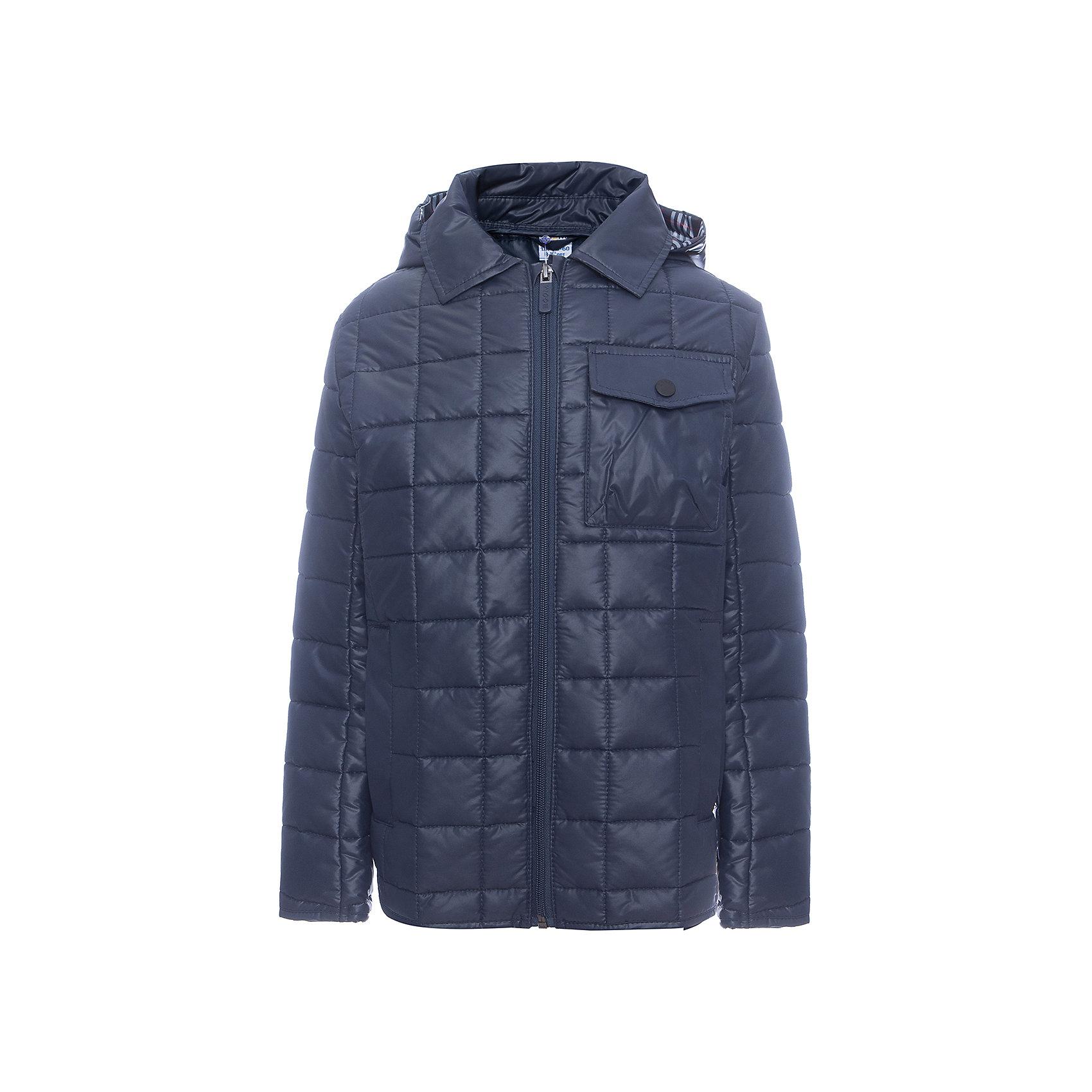 Куртка BOOM by Orby для мальчикаВерхняя одежда<br>Характеристики товара:<br><br>• цвет: синий<br>• ткань верха: Таффета pu milky стеганая<br>• подкладка: ПЭ пуходержащий<br>• утеплитель: Flexy Fiber 150 г/м2<br>• сезон: демисезон<br>• температурный режим: от 0°до +15°С<br>• особенности: на молнии, стеганая<br>• тип куртки: стеганая<br>• капюшон: без меха, несъемный<br>• страна бренда: Россия<br>• страна изготовитель: Россия<br><br>Эта демисезонная куртка не только стильно смотрится - благодаря утеплителю, оптимальному прилеганию и капюшону такая куртка защитит ребенка от холода и сырости в демисезон. Она дополнена удобными карманами.<br><br>Куртку BOOM by Orby для мальчика можно купить в нашем интернет-магазине.<br><br>Ширина мм: 356<br>Глубина мм: 10<br>Высота мм: 245<br>Вес г: 519<br>Цвет: синий<br>Возраст от месяцев: 132<br>Возраст до месяцев: 144<br>Пол: Мужской<br>Возраст: Детский<br>Размер: 152,158,164,170,122,128,134,140,146<br>SKU: 7007398