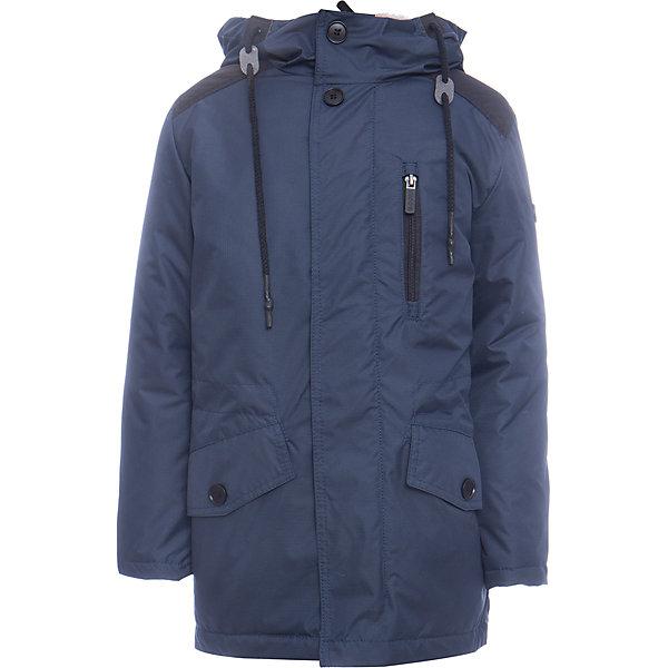 Купить Куртка-парка BOOM by Orby для мальчика, Россия, синий, 98, 110, 104, 158, 152, 146, 140, 134, 128, 122, 116, Мужской