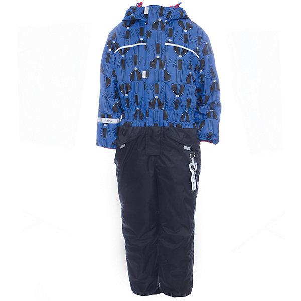 Комбинезон BOOM by Orby для мальчикаВерхняя одежда<br>Характеристики товара:<br><br>• цвет: черный<br>• ткань верха: Нейлон с мембранным покрытием 3000х3000<br>• подкладка: Поларфлис; ПЭ пуходержащий<br>• утеплитель: FiberSoft 150 г/м2<br>• сезон: демисезон<br>• температурный режим: от 0°до +15°С<br>• особенности: на молнии, с ветрозащитным клапаном на липучке<br>• тип комбинезона: с принтом, эластичные резинки на талии, рукавах и штанинах<br>• капюшон: без меха, несъемный<br>• страна бренда: Россия<br>• страна изготовитель: Россия<br><br>Благодаря красивому цвету, капюшону и большим карманам детский комбинезон стильно смотрится и хорошо сидит по фигуре. Модный принтованный комбинезон для мальчика - одна из самых модных моделей наступающего сезона. <br><br>Комбинезон BOOM by Orby для мальчика можно купить в нашем интернет-магазине.<br>Ширина мм: 356; Глубина мм: 10; Высота мм: 245; Вес г: 519; Цвет: черный; Возраст от месяцев: 60; Возраст до месяцев: 72; Пол: Мужской; Возраст: Детский; Размер: 116,86,80,104,92,98,110; SKU: 7007458;