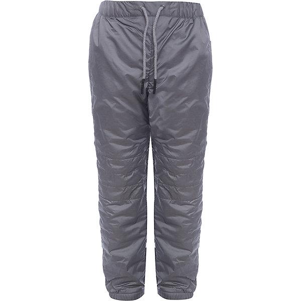 Брюки BOOM by Orby для мальчикаВерхняя одежда<br>Характеристики товара:<br><br>• цвет: серый<br>• ткань верха: Таффета pu milky<br>• подкладка: Флис<br>• без утеплителя<br>• сезон: демисезон<br>• температурный режим: от +5°до +15°С<br>• особенности одежды: на резинке<br>• тип брюк: с флисовой подкладкой<br>• пояс: резинка<br>• карманы: втачные<br>• страна бренда: Россия<br>• страна изготовитель: Россия<br><br>Демисезонные брюки на флисовой подкладке отлично подходят для ношения в демисезон. Такие брюки для мальчика стильно смотрятся и удобно сидят. Есть вместительные карманы. <br><br>Брюки BOOM by Orby для мальчика можно купить в нашем интернет-магазине.<br><br>Ширина мм: 215<br>Глубина мм: 88<br>Высота мм: 191<br>Вес г: 336<br>Цвет: серый<br>Возраст от месяцев: 24<br>Возраст до месяцев: 36<br>Пол: Мужской<br>Возраст: Детский<br>Размер: 98,110,104,92,86,170,164,158,152,146,140,134,128,122,116<br>SKU: 7007532