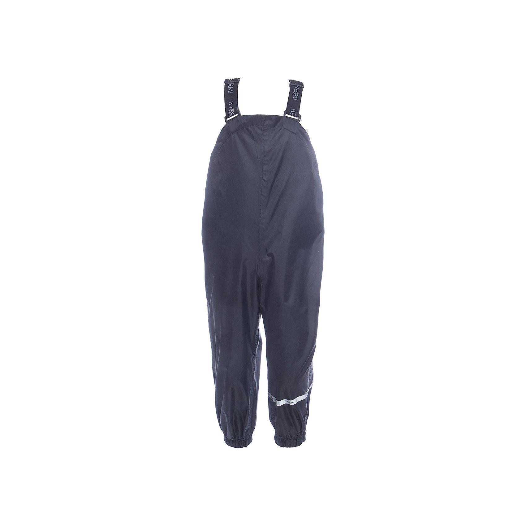 Брюки BOOM by OrbyВерхняя одежда<br>Характеристики товара:<br><br>• цвет: черный<br>• ткань верха: Нейлон с мембранным покрытием 3000х3000<br>• без утеплителя<br>• сезон: демисезон<br>• температурный режим: от +5° до +15°С<br>• особенности одежды: на регулируемых лямках<br>• тип брюк: с завышенной грудкой <br>• застежки: кнопки<br>• страна бренда: Россия<br>• страна изготовитель: Россия<br><br>Демисезонные брюки на регулируемых подтяжках отлично подходят для ношения в демисезон. Такие брюки для мальчика стильно смотрятся и удобно сидят. На штанинах есть эластичные резинки.<br><br>Брюки BOOM by Orby для мальчика можно купить в нашем интернет-магазине.<br><br>Ширина мм: 215<br>Глубина мм: 88<br>Высота мм: 191<br>Вес г: 336<br>Цвет: черный<br>Возраст от месяцев: 60<br>Возраст до месяцев: 72<br>Пол: Унисекс<br>Возраст: Детский<br>Размер: 116,80,86,104,92,98,110<br>SKU: 7007580