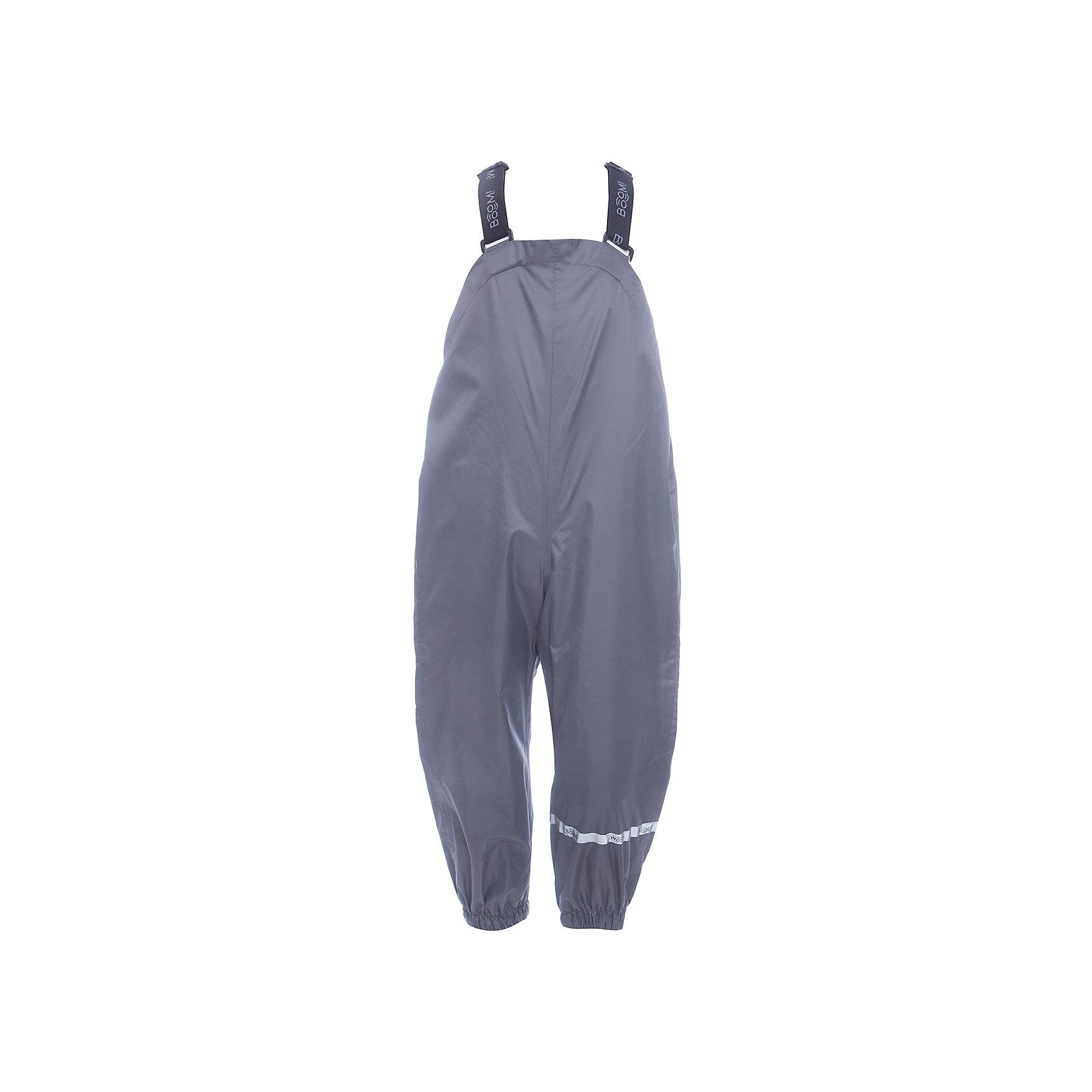 Брюки BOOM by OrbyВерхняя одежда<br>Характеристики товара:<br><br>• цвет: серый<br>• ткань верха: Нейлон с мембранным покрытием 3000х3000<br>• без утеплителя<br>• сезон: демисезон<br>• температурный режим: от +5° до +15°С<br>• особенности одежды: на регулируемых лямках<br>• тип брюк: с завышенной грудкой <br>• застежки: кнопки<br>• страна бренда: Россия<br>• страна изготовитель: Россия<br><br>Эти брюки для мальчика помогают надежно защитить ребенка от холода и сырости. Они стильно смотрятся и удобно сидят. Внизу на штанинах есть эластичные резинки, лямки легко регулируются. <br><br>Брюки BOOM by Orby для мальчика можно купить в нашем интернет-магазине.<br><br>Ширина мм: 215<br>Глубина мм: 88<br>Высота мм: 191<br>Вес г: 336<br>Цвет: серый<br>Возраст от месяцев: 60<br>Возраст до месяцев: 72<br>Пол: Унисекс<br>Возраст: Детский<br>Размер: 116,80,86,104,92,98,110<br>SKU: 7007588