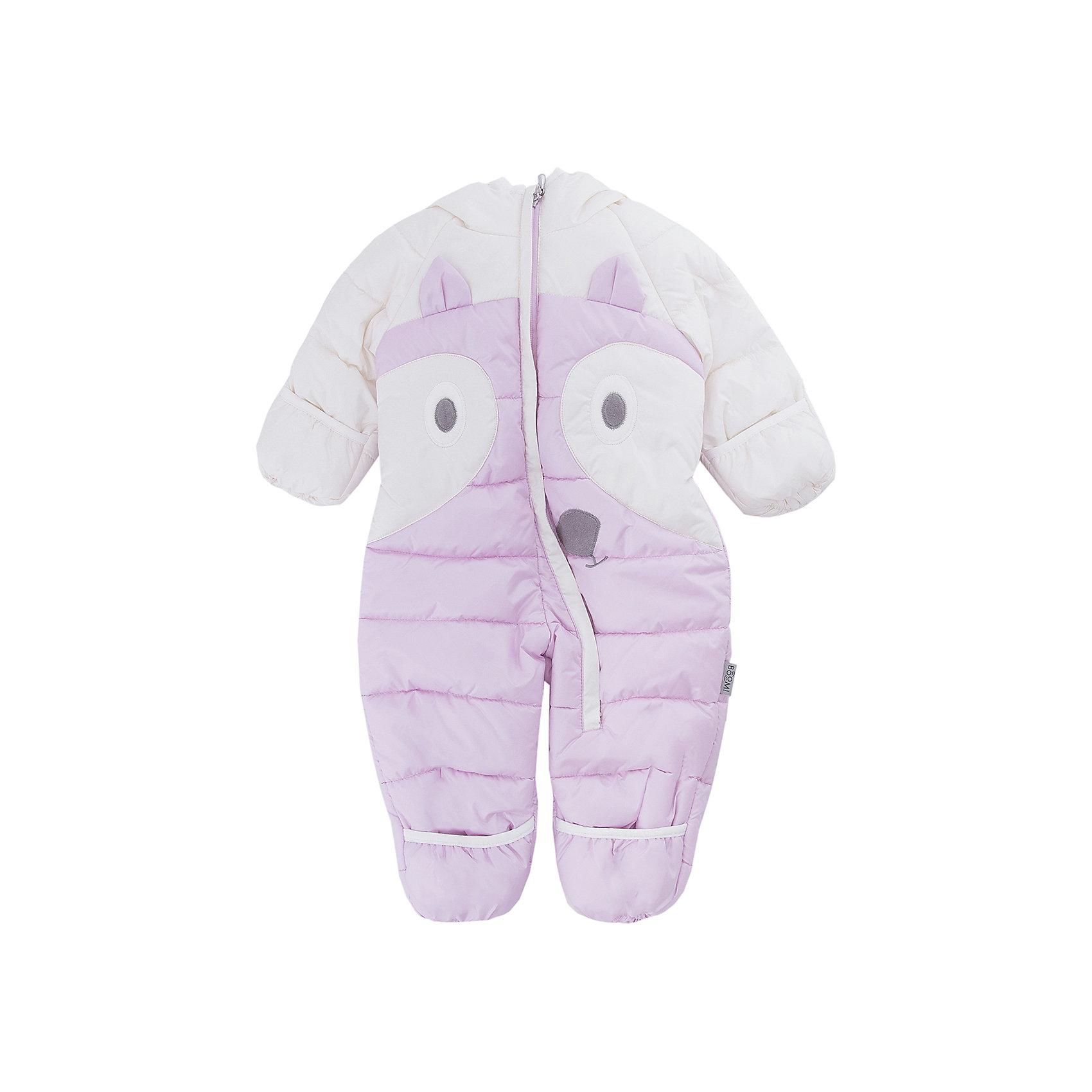 Комбинезон BOOM by Orby для девочкиВерхняя одежда<br>Характеристики товара:<br><br>• цвет: розовый<br>• ткань верха: Таффета oil cire pu milky<br>• подкладка: Флис; Поликоттон<br>• утеплитель: Эко синтепон 200 г/м2<br>• сезон: демисезон<br>• температурный режим: от +10°до -10°С<br>• особенности: дутая, на молнии<br>• тип комбинезона: с манжетами-варежками<br>• капюшон: без меха, несъемный<br>• страна бренда: Россия<br>• страна изготовитель: Россия<br><br>Благодаря удобному капюшону, красивому цвету и украшению-лисичке на животе этот утепленный комбинезон симпатично смотрится и удобно сидит на ребенке. Такой комбинезон для самых маленьких - недорогой способ красиво и комфортно одеть ребенка в демисезон. <br><br>Комбинезон BOOM by Orby можно купить в нашем интернет-магазине.<br><br>Ширина мм: 356<br>Глубина мм: 10<br>Высота мм: 245<br>Вес г: 519<br>Цвет: розовый<br>Возраст от месяцев: 6<br>Возраст до месяцев: 9<br>Пол: Женский<br>Возраст: Детский<br>Размер: 74,62,68<br>SKU: 7007604