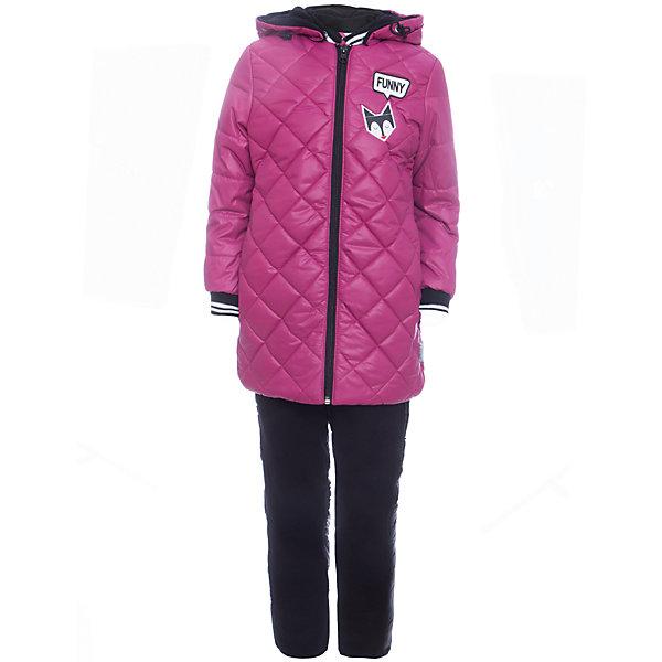 Комплект: куртка и брюки BOOM by Orby для девочкиВерхняя одежда<br>Характеристики товара:<br><br>• цвет: фиолетовый<br>• ткань верха: куртка - Таффета oil cire pu milky, брюки - Болонь pu milky<br>• подкладка: куртка - Флис; ПЭ пуходержащий; брюки - ПЭ пуходержащий<br>• утеплитель: куртка - Эко синтепон 200 г/м2; брюки - Эко синтепон 80 г/м2<br>• сезон: демисезон<br>• температурный режим: от -10° до +10°С<br>• особенности куртки: на молнии, стеганая<br>• особенности брюк: на резинке, дутые<br>• капюшон: без меха <br>• страна бренда: Россия<br>• страна изготовитель: Россия<br><br>Хороший утеплитель и плотная ткань верха делает этот демисезонный комплект отлично подходящим для сырой и холодной погоды. Такой тепленный комплект для девочки состоит из куртки с капюшоном и удобных брюк.<br><br>Комплект: куртка и брюки BOOM by Orby для девочки можно купить в нашем интернет-магазине.<br>Ширина мм: 356; Глубина мм: 10; Высота мм: 245; Вес г: 519; Цвет: лиловый; Возраст от месяцев: 48; Возраст до месяцев: 60; Пол: Женский; Возраст: Детский; Размер: 110,104,122,116,98,92,86; SKU: 7007632;