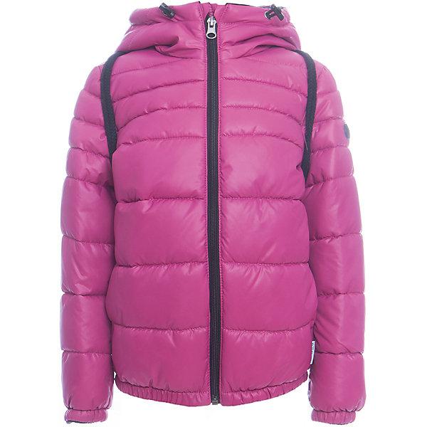 Куртка BOOM by Orby для девочкиВерхняя одежда<br>Характеристики товара:<br><br>• цвет: фиолетовый<br>• ткань верха: Болонь pu milky<br>• подкладка: Флис, ПЭ пуходержащий<br>• утеплитель: Flexy Fiber 200 г/м2<br>• сезон: демисезон<br>• температурный режим: от -10° до +10°С<br>• особенности: на молнии, со съемным рюкзаком<br>• тип куртки: стеганая, дутая<br>• капюшон: без меха, несъемный<br>• страна бренда: Россия<br>• страна изготовитель: Россия<br><br>Эта оригинальная куртка дополнена удобным рюкзаком. Яркая куртка создана с учетом особенностей строения детского тела. Эта демисезонная куртка учитывает особенности российской погоды в демисезон, поэтому рассчитана как на дождливые дни, так и заморозки. <br><br>Куртку BOOM by Orby можно купить в нашем интернет-магазине.<br>Ширина мм: 356; Глубина мм: 10; Высота мм: 245; Вес г: 519; Цвет: лиловый; Возраст от месяцев: 6; Возраст до месяцев: 9; Пол: Женский; Возраст: Детский; Размер: 74,98,92,116,110,104,86,80; SKU: 7007673;