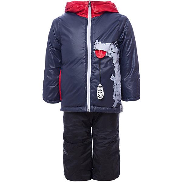 Комплект: куртка и брюки BOOM by Orby для мальчикаВерхняя одежда<br>Характеристики товара:<br><br>• цвет: синий<br>• ткань верха: куртка - Болонь pu milky, брюки - Таффета pu milky<br>• подкладка: куртка - Флис; ПЭ пуходержащий; брюки - флис<br>• утеплитель: куртка - Эко синтепон 200 г/м2<br>• сезон: демисезон<br>• температурный режим: от -10° до +10°С<br>• особенности куртки: на молнии, дутая<br>• особенности брюк: на резинке, дутые, на лямках<br>• капюшон: без меха, несъемный<br>• страна бренда: Россия<br>• страна изготовитель: Россия<br><br>Этот стильный и комфортный комплект был разработан специально для детей. Оригинальный демисезонный комплект для мальчика состоит из куртки с капюшоном и удобных брюк. Утеплитель и плотная ткань верха делает его подходящим для сырой и холодной погоды. <br><br>Комплект: куртка и брюки BOOM by Orby для мальчика можно купить в нашем интернет-магазине.<br><br>Ширина мм: 356<br>Глубина мм: 10<br>Высота мм: 245<br>Вес г: 519<br>Цвет: синий<br>Возраст от месяцев: 6<br>Возраст до месяцев: 9<br>Пол: Мужской<br>Возраст: Детский<br>Размер: 74,80<br>SKU: 7007688