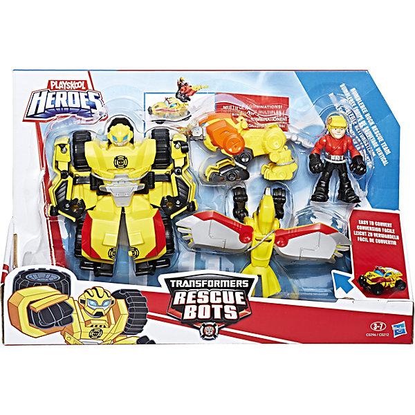 Набор фигурок Hasbro PLAYSKOOL Трансформеры-спасателиФигурки из мультфильмов<br>Набор фигурок спасателей из мультсериала Трансформеры: Роботы-Спасатели. В комлекте робот-трансформер, а так же фигурка человека.<br><br>Ширина мм: 67<br>Глубина мм: 305<br>Высота мм: 203<br>Вес г: 109<br>Возраст от месяцев: 36<br>Возраст до месяцев: 2147483647<br>Пол: Мужской<br>Возраст: Детский<br>SKU: 7009397