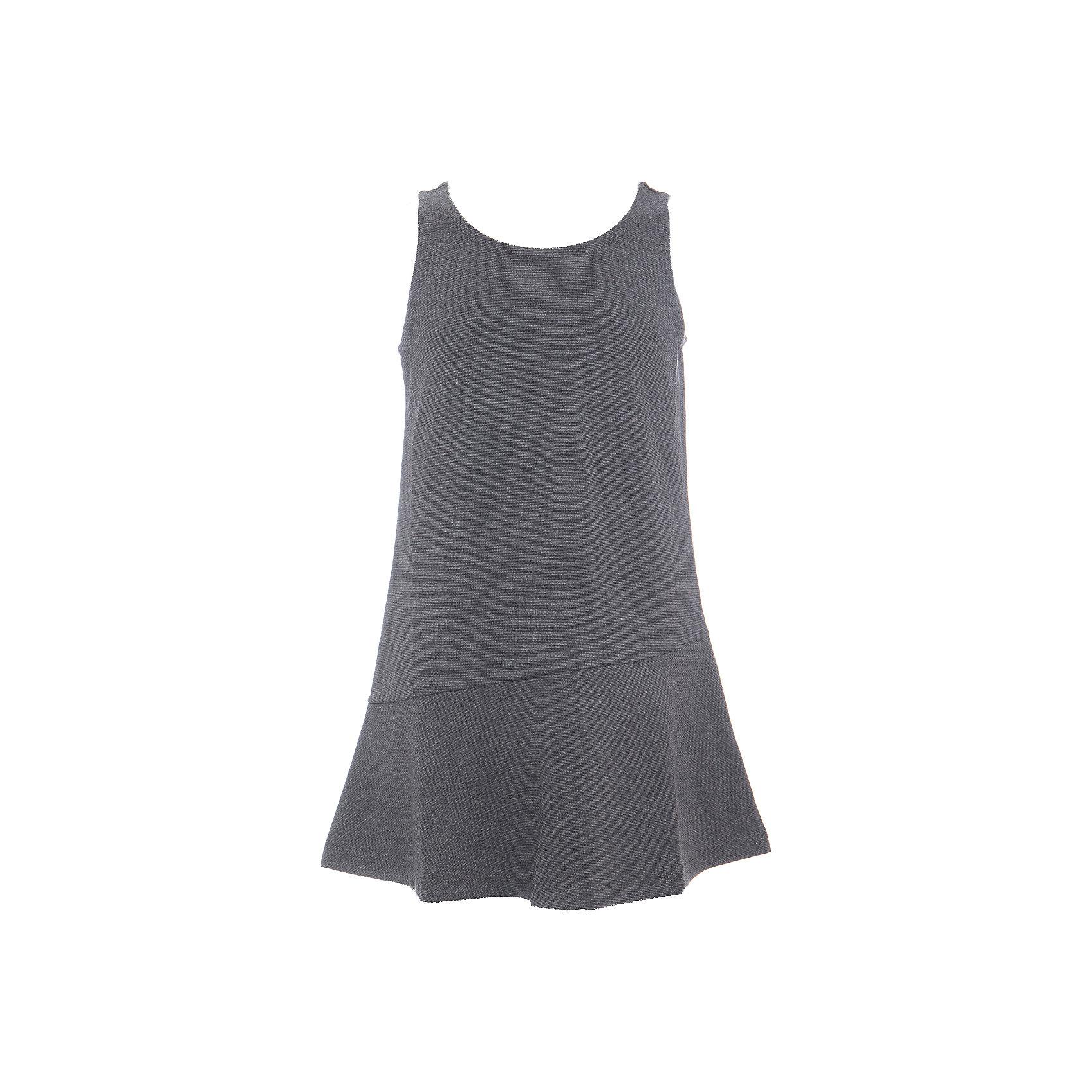 Платье SELA для девочкиПлатья и сарафаны<br>Характеристики товара:<br><br>• цвет: темно-серый меланж;<br>• состав: 75% полиэстер, 21% вискоза, 4% эластан;<br>• сезон: демисезон;<br>• особенности: школьный, повседневный;<br>• без рукавов;<br>• полуприлегающий, расширенный к низу силуэт;<br>• страна бренда: Россия;<br>• страна изготовитель: Китай.<br><br>Школьный сарафан без рукавов для девочки. Силуэт полуприлегающий, расширенный к низу. Однотонный сарафан выполнен в цвете темно-серый меланж.<br><br>Платье Sela (Села) для девочки можно купить в нашем интернет-магазине.<br><br>Ширина мм: 236<br>Глубина мм: 16<br>Высота мм: 184<br>Вес г: 177<br>Цвет: серый<br>Возраст от месяцев: 156<br>Возраст до месяцев: 168<br>Пол: Женский<br>Возраст: Детский<br>Размер: 164,122,128,134,140,146,152<br>SKU: 7009618