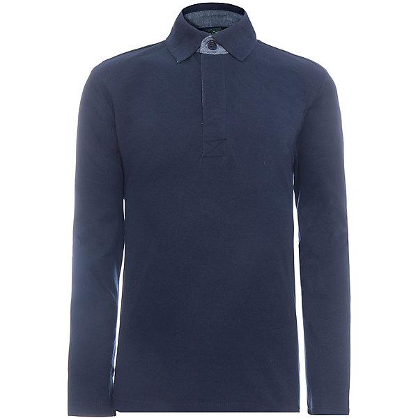Рубашка-поло SELA для мальчикаБлузки и рубашки<br>Характеристики товара:<br><br>• цвет: синий;<br>• состав: 100% хлопок;<br>• сезон: демисезон;<br>• особенности: повседневная, школьная, однотонная;<br>• прямой силуэт;<br>• длинный рукав;<br>• страна бренда: Россия;<br>• страна изготовитель: Китай.<br><br>Рубашка-поло с длинным рукавом для мальчика. Воротничок застегивается на пуговицы. Темно-синяя рубашка имеет прямой силуэт.<br><br>Рубашку-поло Sela (Села) для мальчика можно купить в нашем интернет-магазине.<br><br>Ширина мм: 174<br>Глубина мм: 10<br>Высота мм: 169<br>Вес г: 157<br>Цвет: синий<br>Возраст от месяцев: 72<br>Возраст до месяцев: 84<br>Пол: Мужской<br>Возраст: Детский<br>Размер: 122,152,146,140,134,128<br>SKU: 7009750