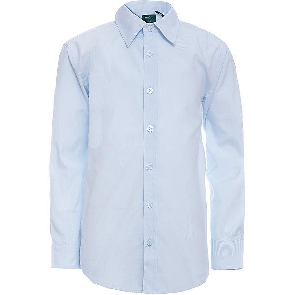 Рубашка SELA для мальчикаБлузки и рубашки<br>Характеристики товара:<br><br>• цвет: голубой;<br>• состав: 60% хлопок, 40% полиэстер;<br>• сезон: круглый год;<br>• особенности: повседневная, школьная;<br>• застежка: пуговицы;<br>• манжеты на пуговицах;<br>• с длинным рукавом;<br>• страна бренда: Россия;<br>• страна изготовитель: Китай.<br><br>Школьная рубашка с длинным рукавом для мальчика. Рубашка выполнена в голубом цвете, застегивается на пуговицы. Манжеты с регулируемой шириной, застегиваются на две пуговицы.<br><br>Рубашку Sela (Села) для мальчика можно купить в нашем интернет-магазине.<br>Ширина мм: 174; Глубина мм: 10; Высота мм: 169; Вес г: 157; Цвет: голубой; Возраст от месяцев: 72; Возраст до месяцев: 84; Пол: Мужской; Возраст: Детский; Размер: 122,170,164,158,152,146,140,134,128; SKU: 7009788;