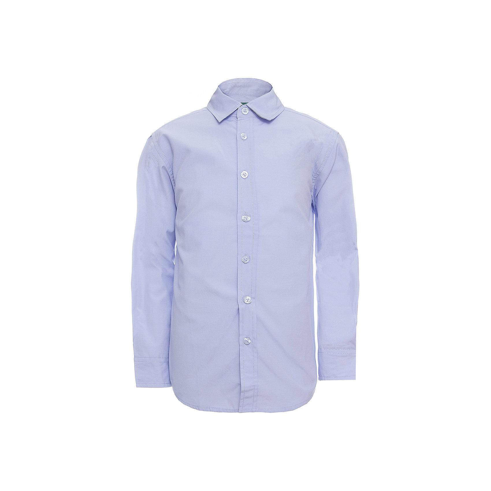 Рубашка SELA для мальчикаБлузки и рубашки<br>Характеристики товара:<br><br>• цвет: сиреневый;<br>• состав: 60% хлопок, 40% полиэстер;<br>• сезон: круглый год;<br>• особенности: повседневная, школьная;<br>• застежка: пуговицы;<br>• манжеты на пуговицах;<br>• с длинным рукавом;<br>• страна бренда: Россия;<br>• страна изготовитель: Китай.<br><br>Школьная рубашка с длинным рукавом для мальчика. Рубашка выполнена в сиреневом цвете, застегивается на пуговицы. Манжеты с регулируемой шириной, застегиваются на две пуговицы.<br><br>Рубашку Sela (Села) для мальчика можно купить в нашем интернет-магазине.<br><br>Ширина мм: 174<br>Глубина мм: 10<br>Высота мм: 169<br>Вес г: 157<br>Цвет: сиреневый<br>Возраст от месяцев: 132<br>Возраст до месяцев: 144<br>Пол: Мужской<br>Возраст: Детский<br>Размер: 152,122,128,134,140,146<br>SKU: 7009798