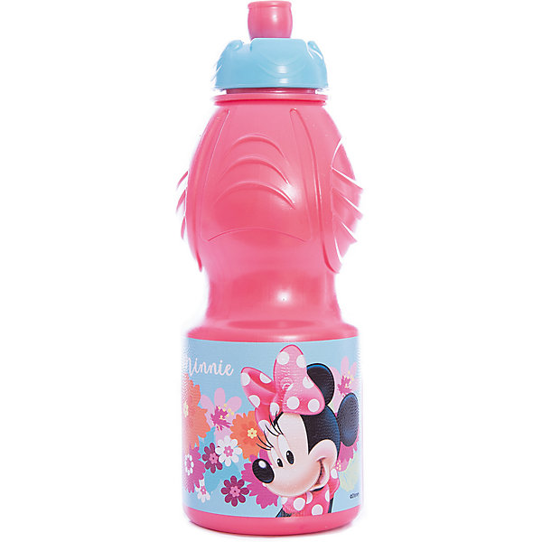 Бутылка пластиковая 400 мл., Минни Маус