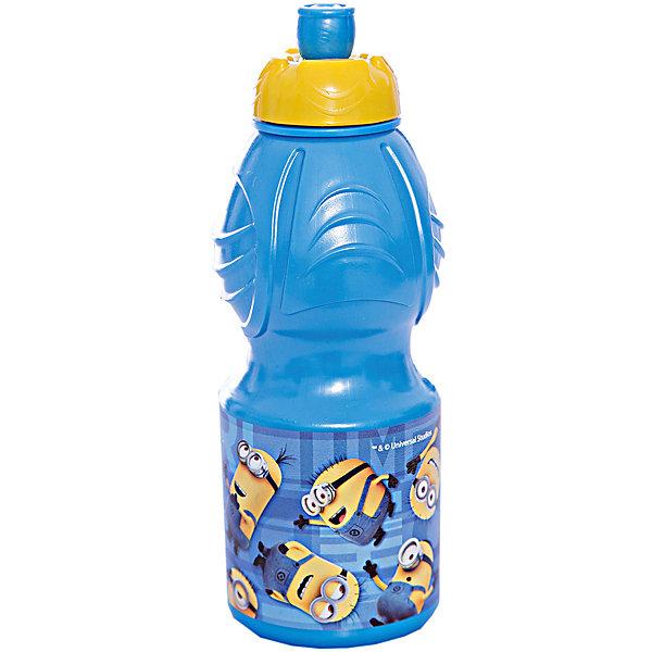 Бутылка пластиковая 400 мл., Миньоны