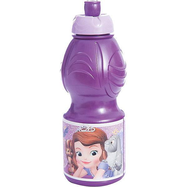 Бутылка пластиковая 400 мл., Принцесса СофияБутылки для воды и бутербродницы<br>Характеристики:<br><br>• возраст: от 3 лет;<br>• цвет: разноцветная, с иллюстрацией;<br>• объем: 400 мл.;<br>• дополнительные опции: с поильником;<br>• материал: пищевой пластик;<br>• высота бутылки: 18 см; <br>• ширина бутылки: 6,5 см;<br>• вес: 50 г.<br>   <br>Красочная спортивная бутылочка для детей изготовлена из пищевого пластика. Горлышко снабжено специальным выдвижным поильником. Бутылка имеет суженую к середине форму, удобную для детской руки.<br><br>Бутылка легко помещается в спортивную сумку, рюкзак или велосипедный держатель. Можно использовать с любыми видами пищевых жидкостей.<br><br>На бутылочке изображены любимые детские персонажи. <br><br>Бутылку пластиковую 400 мл., Принцесса София, Stor можно приобрести в нашем интернет-магазине.<br><br>Ширина мм: 65<br>Глубина мм: 65<br>Высота мм: 180<br>Вес г: 52<br>Возраст от месяцев: 36<br>Возраст до месяцев: 2147483647<br>Пол: Унисекс<br>Возраст: Детский<br>SKU: 7010321