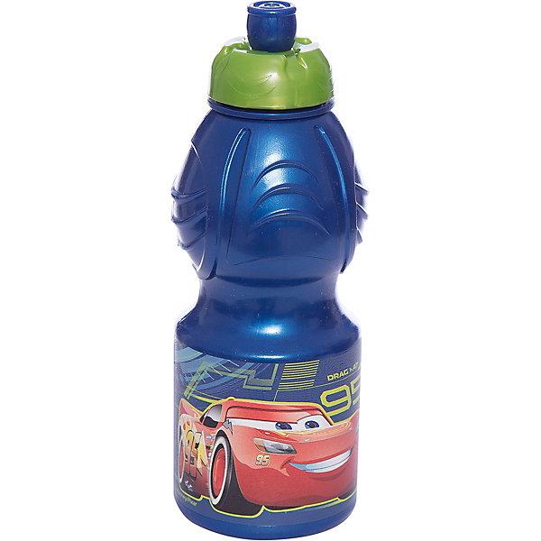 Бутылка пластиковая 400 мл., Тачки 3Бутылки для воды и бутербродницы<br>Характеристики:<br><br>• возраст: от 3 лет;<br>• цвет: разноцветная, с иллюстрацией;<br>• объем: 400 мл.;<br>• дополнительные опции: с поильником;<br>• материал: пищевой пластик;<br>• высота бутылки: 18 см; <br>• ширина бутылки: 6,5 см;<br>• вес: 50 г.<br>   <br>Красочная спортивная бутылочка для детей изготовлена из пищевого пластика. Горлышко снабжено специальным выдвижным поильником. Бутылка имеет суженую к середине форму, удобную для детской руки.<br><br>Бутылка легко помещается в спортивную сумку, рюкзак или велосипедный держатель. Можно использовать с любыми видами пищевых жидкостей.<br><br>На бутылочке изображены любимые детские персонажи. <br><br>Бутылку пластиковую 400 мл., Тачки 3, Stor можно приобрести в нашем интернет-магазине.<br>Ширина мм: 65; Глубина мм: 65; Высота мм: 180; Вес г: 52; Возраст от месяцев: 36; Возраст до месяцев: 2147483647; Пол: Унисекс; Возраст: Детский; SKU: 7010324;