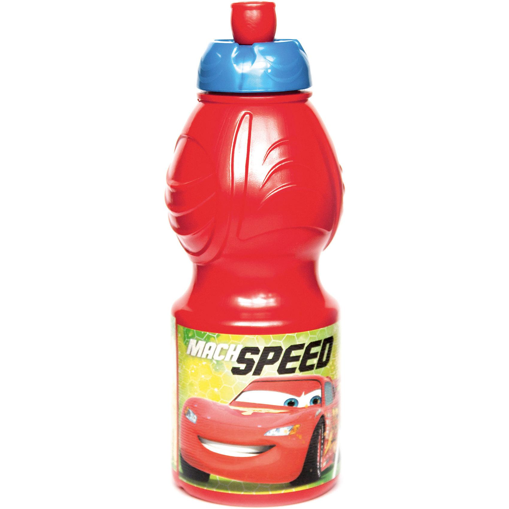 Бутылка пластиковая 400 мл., Тачки Грани гонокБутылки для воды и бутербродницы<br>Спортивная бутылочка для холодных жидкостей из пищевого пластика с изображением любимого персонажа, объем 400 мл.<br><br>Ширина мм: 65<br>Глубина мм: 65<br>Высота мм: 180<br>Вес г: 52<br>Возраст от месяцев: 36<br>Возраст до месяцев: 2147483647<br>Пол: Унисекс<br>Возраст: Детский<br>SKU: 7010325