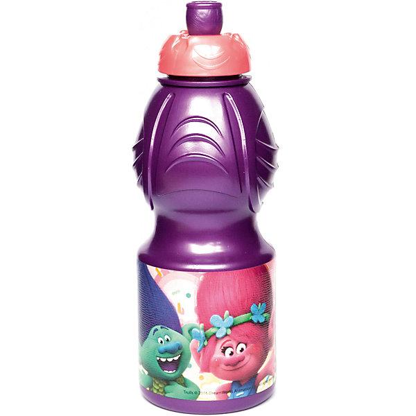 Бутылка пластиковая 400 мл., ТроллиБутылки для воды и бутербродницы<br>Характеристики:<br><br>• возраст: от 3 лет;<br>• цвет: разноцветная, с иллюстрацией;<br>• объем: 400 мл.;<br>• дополнительные опции: с поильником;<br>• материал: пищевой пластик;<br>• высота бутылки: 18 см; <br>• ширина бутылки: 6,5 см;<br>• вес: 50 г.<br>   <br>Красочная спортивная бутылочка для детей изготовлена из пищевого пластика. Горлышко снабжено специальным выдвижным поильником. Бутылка имеет суженую к середине форму, удобную для детской руки.<br><br>Бутылка легко помещается в спортивную сумку, рюкзак или велосипедный держатель. Можно использовать с любыми видами пищевых жидкостей.<br><br>На бутылочке изображены любимые детские персонажи. <br><br>Бутылку пластиковую 400 мл., Тролли, Stor можно приобрести в нашем интернет-магазине.<br><br>Ширина мм: 65<br>Глубина мм: 65<br>Высота мм: 180<br>Вес г: 52<br>Возраст от месяцев: 36<br>Возраст до месяцев: 2147483647<br>Пол: Унисекс<br>Возраст: Детский<br>SKU: 7010326