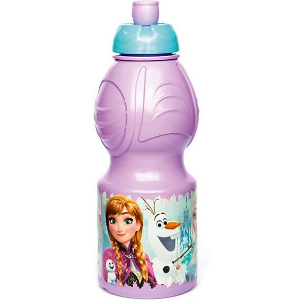 Бутылка пластиковая 400 мл., Холодное сердце