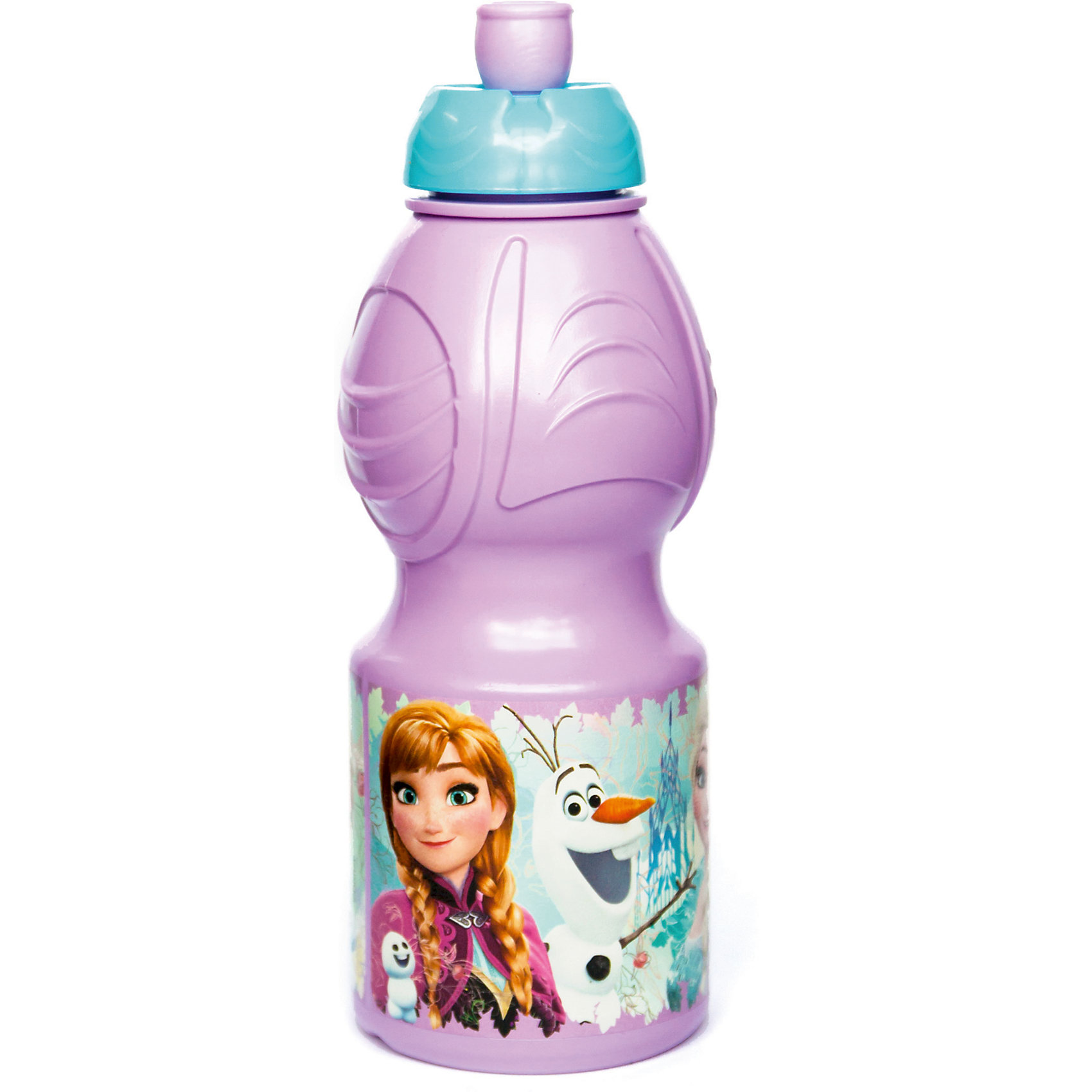 Бутылка пластиковая 400 мл., Холодное сердцеБутылки для воды и бутербродницы<br>Характеристики:<br><br>• возраст: от 3 лет;<br>• цвет: разноцветная, с иллюстрацией;<br>• объем: 400 мл.;<br>• дополнительные опции: с поильником;<br>• материал: пищевой пластик;<br>• высота бутылки: 18 см; <br>• ширина бутылки: 6,5 см;<br>• вес: 50 г.<br>   <br>Красочная спортивная бутылочка для детей изготовлена из пищевого пластика. Горлышко снабжено специальным выдвижным поильником. Бутылка имеет суженую к середине форму, удобную для детской руки.<br><br>Бутылка легко помещается в спортивную сумку, рюкзак или велосипедный держатель. Можно использовать с любыми видами пищевых жидкостей.<br><br>На бутылочке изображены любимые детские персонажи. <br><br>Бутылку пластиковую 400 мл., Холодное сердце, Stor можно приобрести в нашем интернет-магазине.<br><br>Ширина мм: 65<br>Глубина мм: 65<br>Высота мм: 180<br>Вес г: 52<br>Возраст от месяцев: 36<br>Возраст до месяцев: 2147483647<br>Пол: Унисекс<br>Возраст: Детский<br>SKU: 7010327