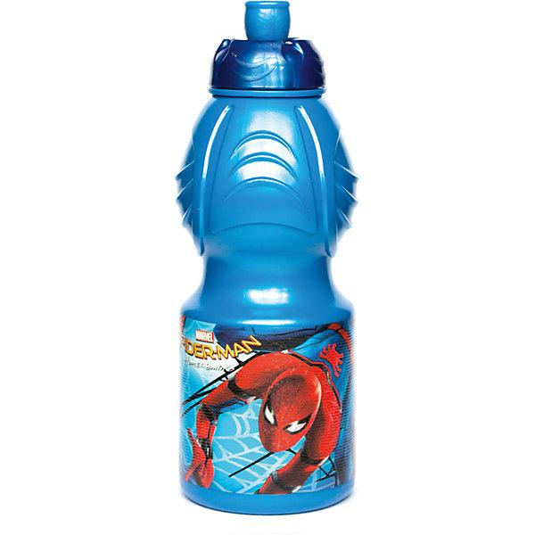 Бутылка пластиковая 400 мл., Человек Паук 2017Бутылки для воды и бутербродницы<br>Характеристики:<br><br>• возраст: от 3 лет;<br>• цвет: разноцветная, с иллюстрацией;<br>• объем: 400 мл.;<br>• дополнительные опции: с поильником;<br>• материал: пищевой пластик;<br>• высота бутылки: 18 см; <br>• ширина бутылки: 6,5 см;<br>• вес: 50 г.<br>   <br>Красочная спортивная бутылочка для детей изготовлена из пищевого пластика. Горлышко снабжено специальным выдвижным поильником. Бутылка имеет суженую к середине форму, удобную для детской руки.<br><br>Бутылка легко помещается в спортивную сумку, рюкзак или велосипедный держатель. Можно использовать с любыми видами пищевых жидкостей.<br><br>На бутылочке изображены любимые детские персонажи. <br><br>Бутылку пластиковую 400 мл., Человек Паук 2017, Stor можно приобрести в нашем интернет-магазине.<br><br>Ширина мм: 65<br>Глубина мм: 65<br>Высота мм: 180<br>Вес г: 52<br>Возраст от месяцев: 36<br>Возраст до месяцев: 2147483647<br>Пол: Унисекс<br>Возраст: Детский<br>SKU: 7010328