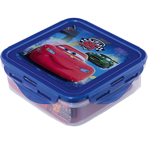 Контейнер пластиковый 500 мл., Тачки Грани гонокДетская посуда<br>Характеристики:<br><br>• возраст: от 3 лет;<br>• объем: 500 мл;<br>• дополнительные опции: с крышкой;<br>• материал: пищевой пластик;<br>• размер контейнера: 12,3х12,3х6,7 см;<br>• вес: 88 г.<br>   <br>Контейнер с крышкой предназначен для хранения пищевых продуктов. <br><br>Красочный контейнер с изображением любимых детских героев подойдет для школьных обедов. Компактная форма легко помещается в рюкзак. Крышка герметично закрывает контейнер и препятствует проникновению посторонних запахов. <br><br>Можно использовать с любыми видами пищевых продуктов.<br><br>Контейнер пластиковый 500 мл., Тачки Грани гонок, Stor можно приобрести в нашем интернет-магазине.<br>Ширина мм: 123; Глубина мм: 67; Высота мм: 123; Вес г: 88; Возраст от месяцев: 36; Возраст до месяцев: 2147483647; Пол: Унисекс; Возраст: Детский; SKU: 7010332;