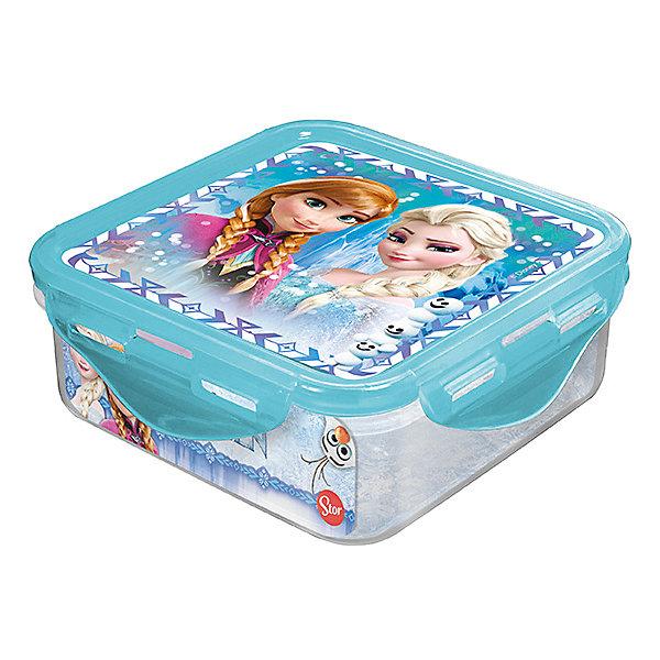 Контейнер пластиковый 500 мл., Холодное сердцеДетская посуда<br>Характеристики:<br><br>• возраст: от 3 лет;<br>• объем: 500 мл;<br>• дополнительные опции: с крышкой;<br>• материал: пищевой пластик;<br>• размер контейнера: 12,3х12,3х6,7 см;<br>• вес: 88 г.<br>   <br>Контейнер с крышкой предназначен для хранения пищевых продуктов. <br><br>Красочный контейнер с изображением любимых детских героев подойдет для школьных обедов. Компактная форма легко помещается в рюкзак. Крышка герметично закрывает контейнер и препятствует проникновению посторонних запахов. <br><br>Можно использовать с любыми видами пищевых продуктов.<br><br>Контейнер пластиковый 500 мл., Холодное сердце, Stor можно приобрести в нашем интернет-магазине.<br><br>Ширина мм: 123<br>Глубина мм: 67<br>Высота мм: 123<br>Вес г: 88<br>Возраст от месяцев: 36<br>Возраст до месяцев: 2147483647<br>Пол: Унисекс<br>Возраст: Детский<br>SKU: 7010333