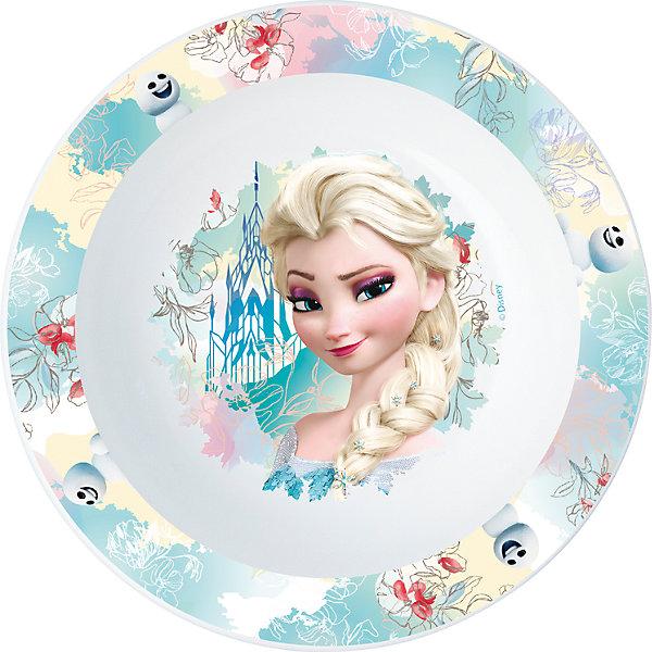 Миска пластиковая для СВЧ, Холодное сердцеДетская посуда<br>Характеристики:<br><br>• возраст: от 3 лет;<br>• материал: пищевой пластик;<br>• диаметр: 16,5 см;<br>• вес: 43 г.<br>   <br>Красочная детская миска с изображением любимых персонажей предназначена для детей от 3 лет. Яркую посуду можно использовать дома, брать с собой в дорогу или на пикник. <br><br>Глубокая миска изготовлена из высококачественного пищевого пластика. Подходит для обучения детей самостоятельному приему пищи, она не бьется и безопасна для малышей.<br><br>Миску можно использовать для горячих блюд и СВЧ. <br><br>Миска пластиковая для СВЧ, Холодное сердце, ND Play можно приобрести в нашем интернет-магазине.<br><br>Ширина мм: 165<br>Глубина мм: 37<br>Высота мм: 165<br>Вес г: 43<br>Возраст от месяцев: 36<br>Возраст до месяцев: 2147483647<br>Пол: Унисекс<br>Возраст: Детский<br>SKU: 7010338