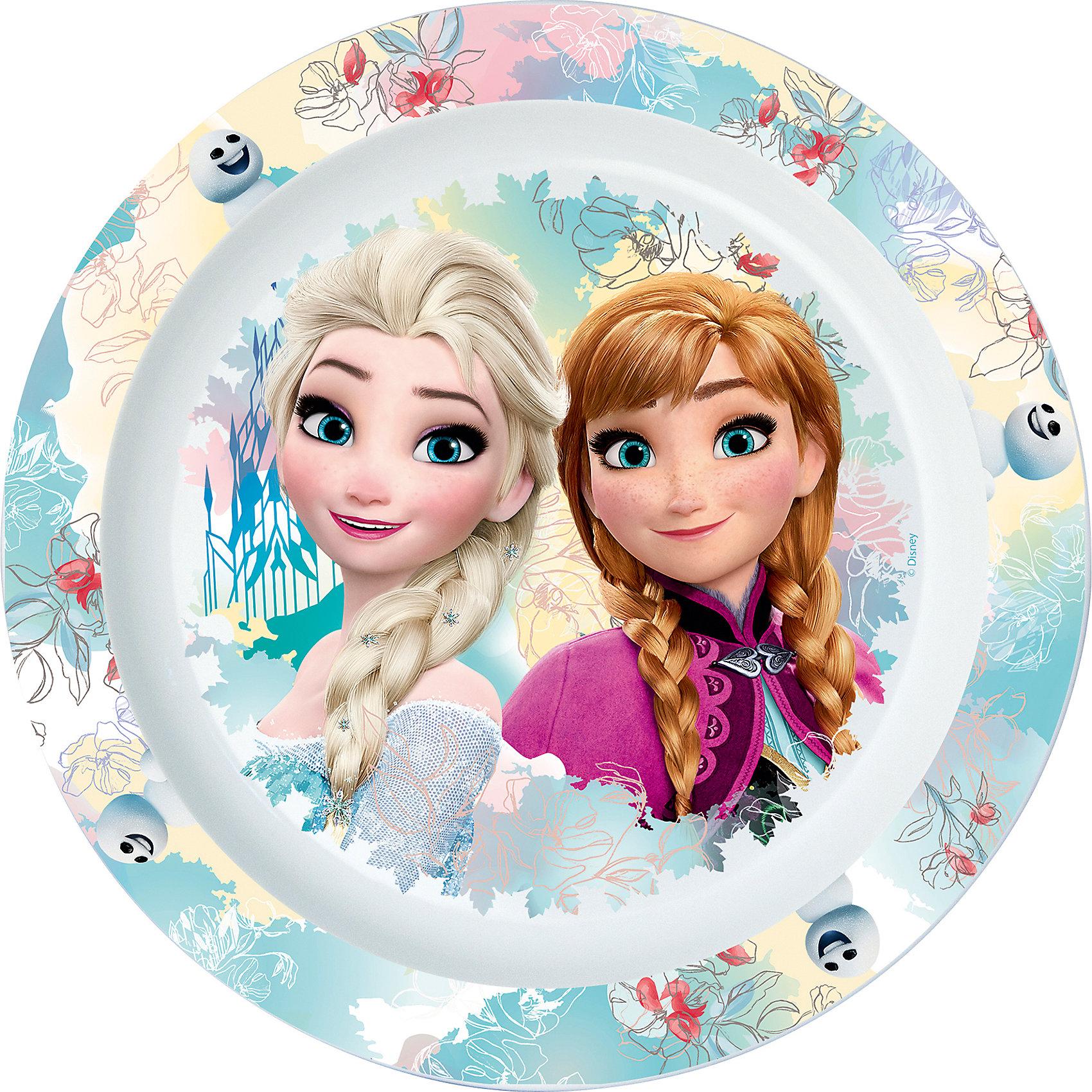 Тарелка пластиковая для СВЧ, Холодное сердцеПосуда для малышей<br>Характеристики:<br><br>• возраст: от 3 лет;<br>• материал: пищевой пластик;<br>• диаметр: 22 см;<br>• вес: 55 г.<br>   <br>Красочная детская тарелка с изображением любимых персонажей предназначена для детей от 3 лет. Яркую посуду можно использовать дома, брать с собой в дорогу или на пикник. <br><br>Большая тарелка изготовлена из высококачественного пищевого пластика. Подходит для  обучения детей самостоятельному приему пищи, она не бьется и безопасна для малышей.<br><br>Тарелку можно использовать для горячих блюд и СВЧ. <br><br>Тарелка пластиковая для СВЧ 22см., Холодное сердце, ND Play можно приобрести в нашем интернет-магазине.<br><br>Ширина мм: 220<br>Глубина мм: 15<br>Высота мм: 220<br>Вес г: 55<br>Возраст от месяцев: 36<br>Возраст до месяцев: 2147483647<br>Пол: Унисекс<br>Возраст: Детский<br>SKU: 7010357