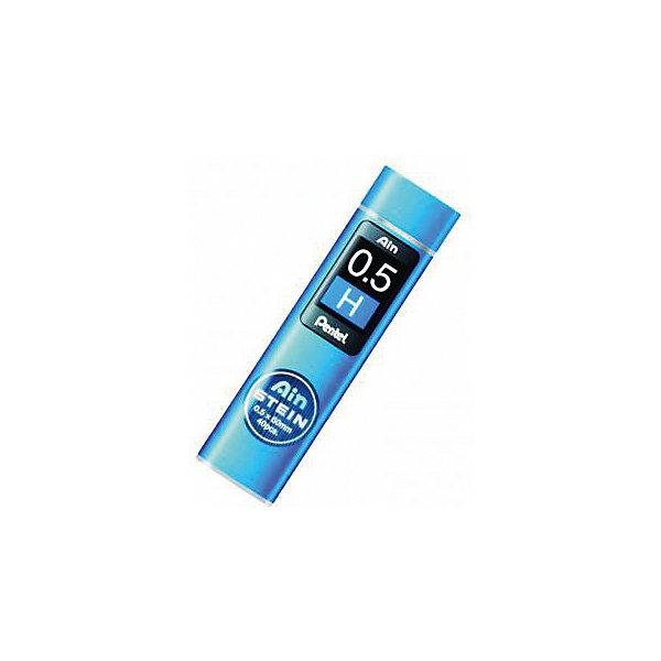 Грифели для карандашей автоматических AIN STEIN 40 шт 0,5 мм PentelЧернографитные<br>Характеристики:<br><br>• возраст: от 6 лет<br>• в комплекте: 40 грифелей<br>• толщина грифеля: 0,5 мм.<br>• длина грифеля: 6 см.<br>• упаковка: пластиковый пенал с дозатором<br>• не содержат вредных веществ<br><br>В наборе 40 особо прочных грифелей, которые подходят для автоматических карандашей «Ain Snein». При производстве грифелей используются специальные синтетические добавки, которые делают их прочными и одновременно гибкими.<br><br>Грифели для карандашей автоматических AIN STEIN 40 шт 0,5 мм Pentel (Пентел) можно купить в нашем интернет-магазине.<br>Ширина мм: 50; Глубина мм: 10; Высота мм: 210; Вес г: 3; Возраст от месяцев: 72; Возраст до месяцев: 2147483647; Пол: Унисекс; Возраст: Детский; SKU: 7010442;