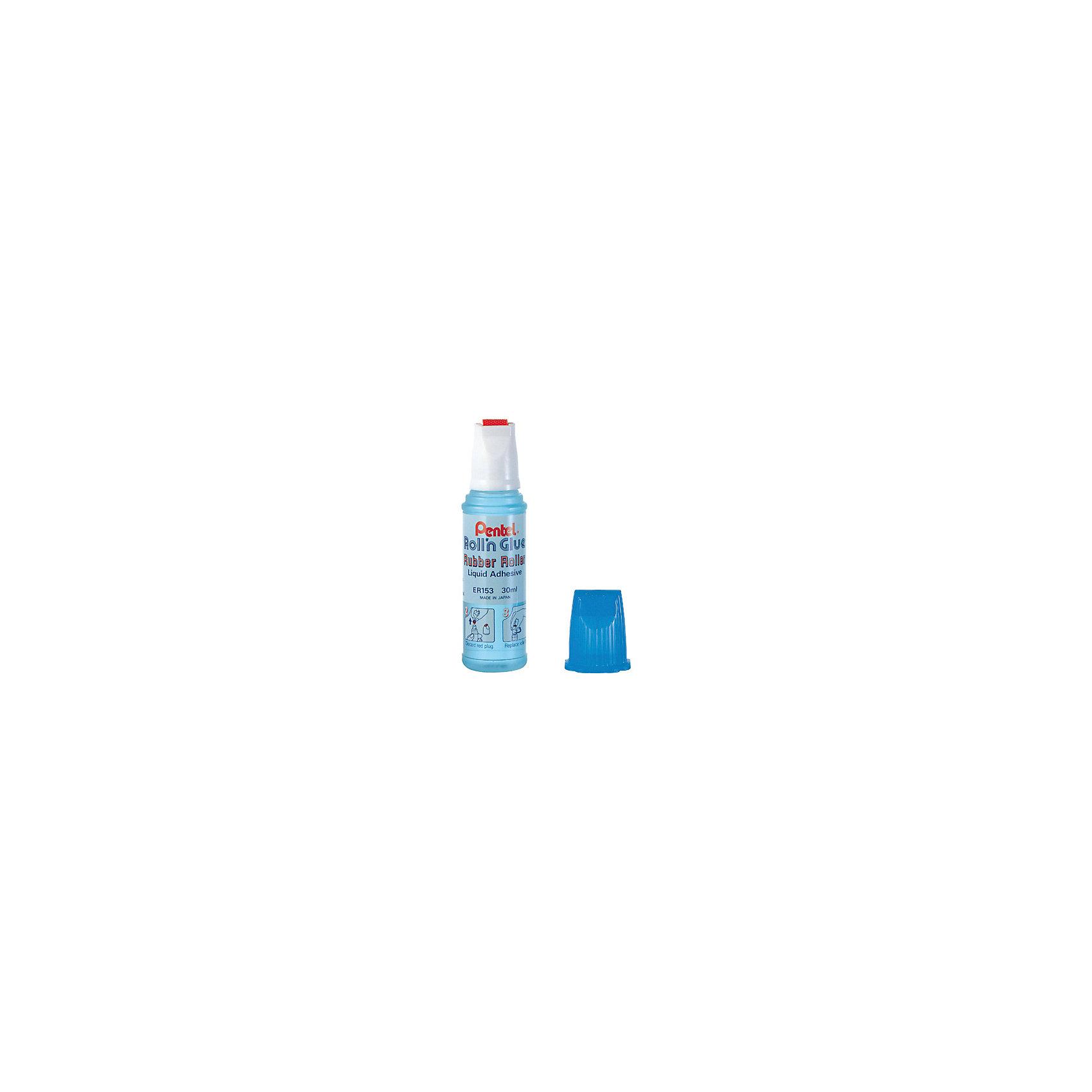Клей роликовый  ROLLN GLUE , 30 мл PentelШкольные аксессуары<br>Характеристики:<br><br>• возраст: от 6 лет<br>• объем: 30 мл.<br>• ширина клеевой линии: 1 см.<br>• вид аппликатора: роллер<br>• материал корпуса: пластик<br><br>Клей «Rolln Glue» прекрасно подходит для бумаги, картона, ткани. Не желтеет, не деформирует поверхность. Рифленый ролик равномерно подает клей. Без запаха, не токсичен.<br><br>Клей роликовый ROLLN GLUE, 30 мл Pentel (Пентел) можно купить в нашем интернет-магазине.<br><br>Ширина мм: 26<br>Глубина мм: 26<br>Высота мм: 100<br>Вес г: 55<br>Возраст от месяцев: 72<br>Возраст до месяцев: 2147483647<br>Пол: Унисекс<br>Возраст: Детский<br>SKU: 7010448