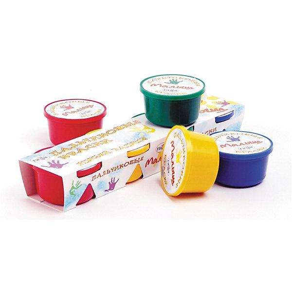 Краски пальчиковые МАЛЫШ 4цвета 120 мл ГаммаПальчиковые краски<br>Характеристики:<br><br>• возраст: от 3 лет<br>• в наборе: 4 баночки с красками<br>• общий объем красок: 120 мл.<br>• цвета: красный, желтый, синий, зеленый<br>• размер упаковки: 30,5х7х4,5 см.<br><br>Пальчиковые краски «Малыш», предназначенные для рисования ладошками и пальцами, сделаны на основе натуральных, экологически чистых компонентов, нетоксичны.<br><br>Краски имеют густую консистенцию, хорошо смешиваются, образуя новые цвета. Могут использоваться на любой поверхности. Легко смываются с рук и отстирываются с одежды. Яркие цвета привлекут внимание малышей.<br><br>Работа с красками способствует развитию у детей мелкой моторики и образного мышления.<br><br>Краски пальчиковые МАЛЫШ 4цвета 120 мл Гамма можно купить в нашем интернет-магазине.<br>Ширина мм: 290; Глубина мм: 66; Высота мм: 45; Вес г: 480; Возраст от месяцев: 36; Возраст до месяцев: 2147483647; Пол: Унисекс; Возраст: Детский; SKU: 7010493;